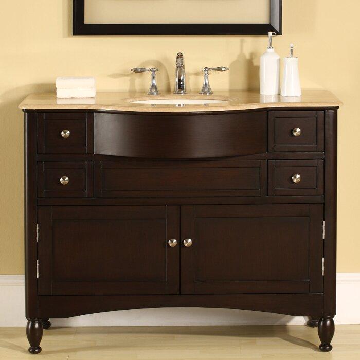 Silkroad Exclusive Addison 45 Single Bathroom Vanity Set Reviews Wayfair