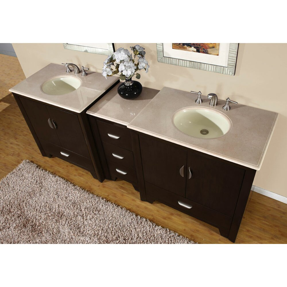 exclusive ilene 89 double bathroom vanity set reviews wayfair