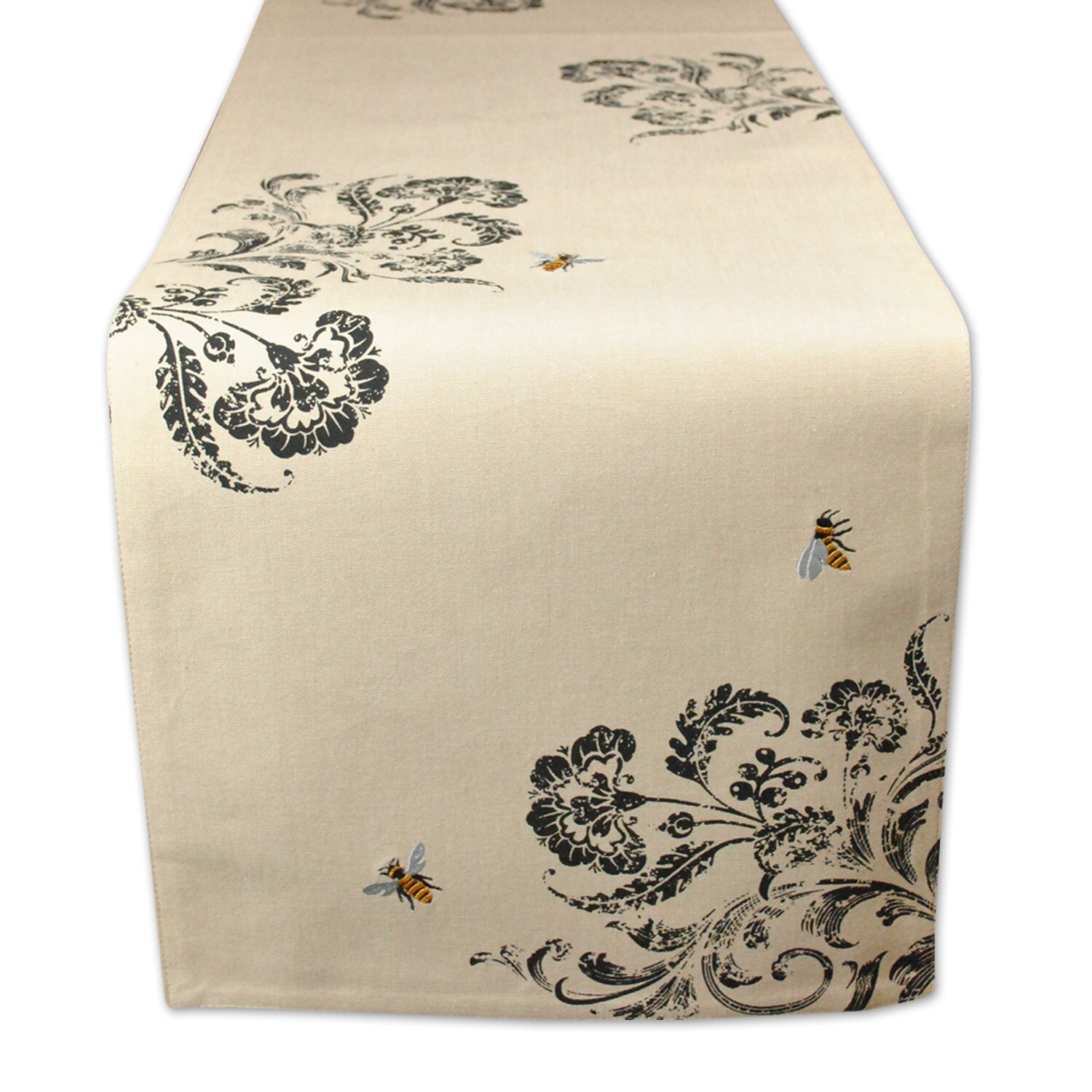 Busy Bees High Lane Busy Bee Embroidered Table Runner