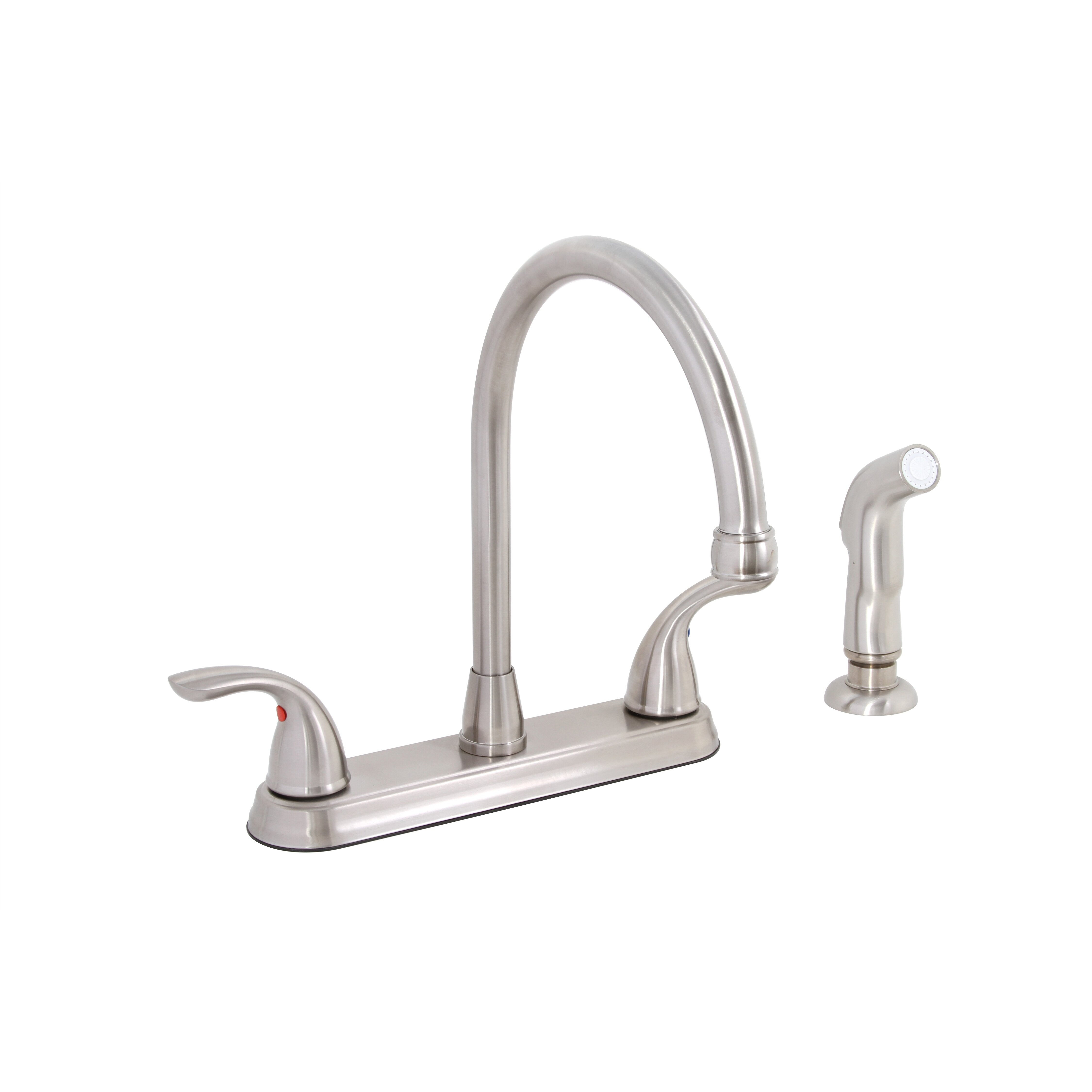 Westlake™ Double Handle Kitchen Faucet with Spray Hose