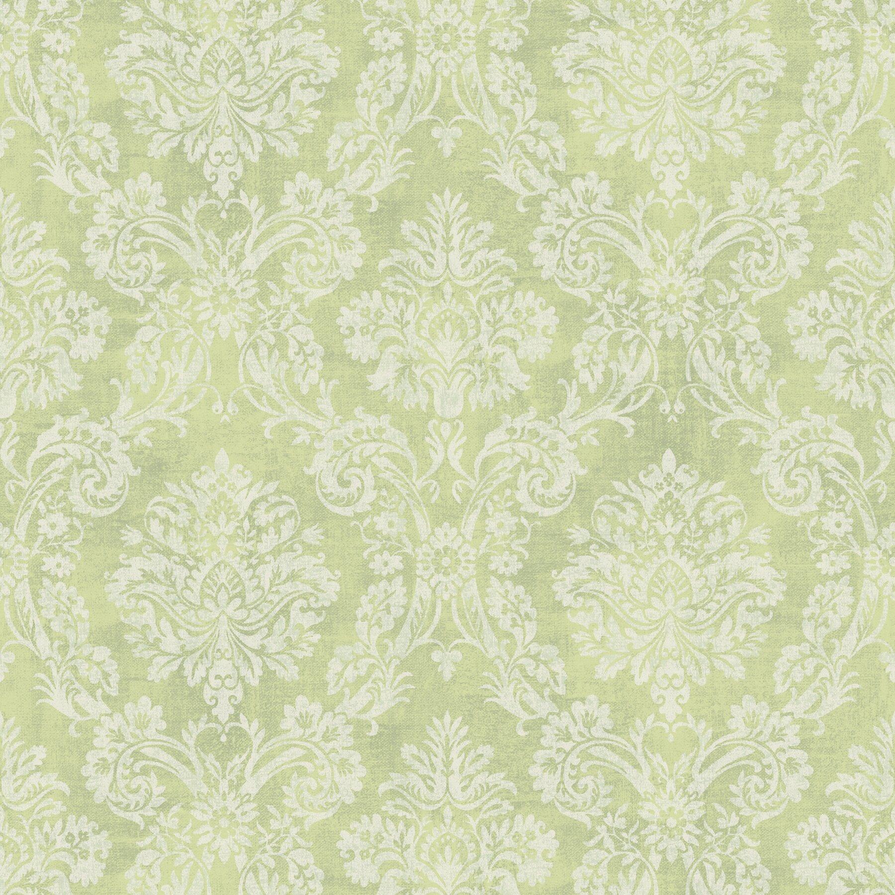 Meadowlark kent garden 33 39 x 20 5 damask 3d embossed for 3d embossed wallpaper