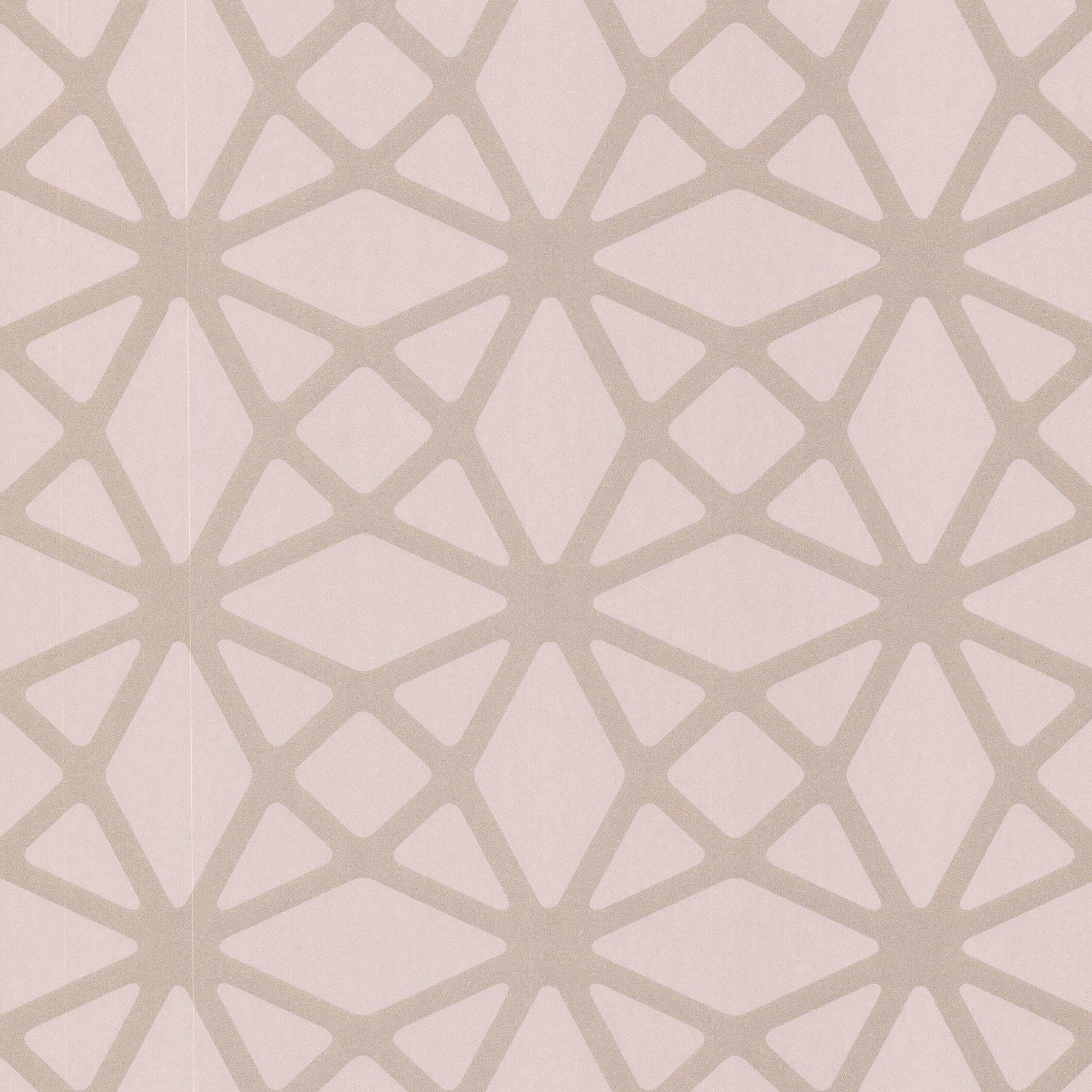 Lattice Wallpaper: Brewster Home Fashions Geo Enterprise Lattice 33' X 20.5