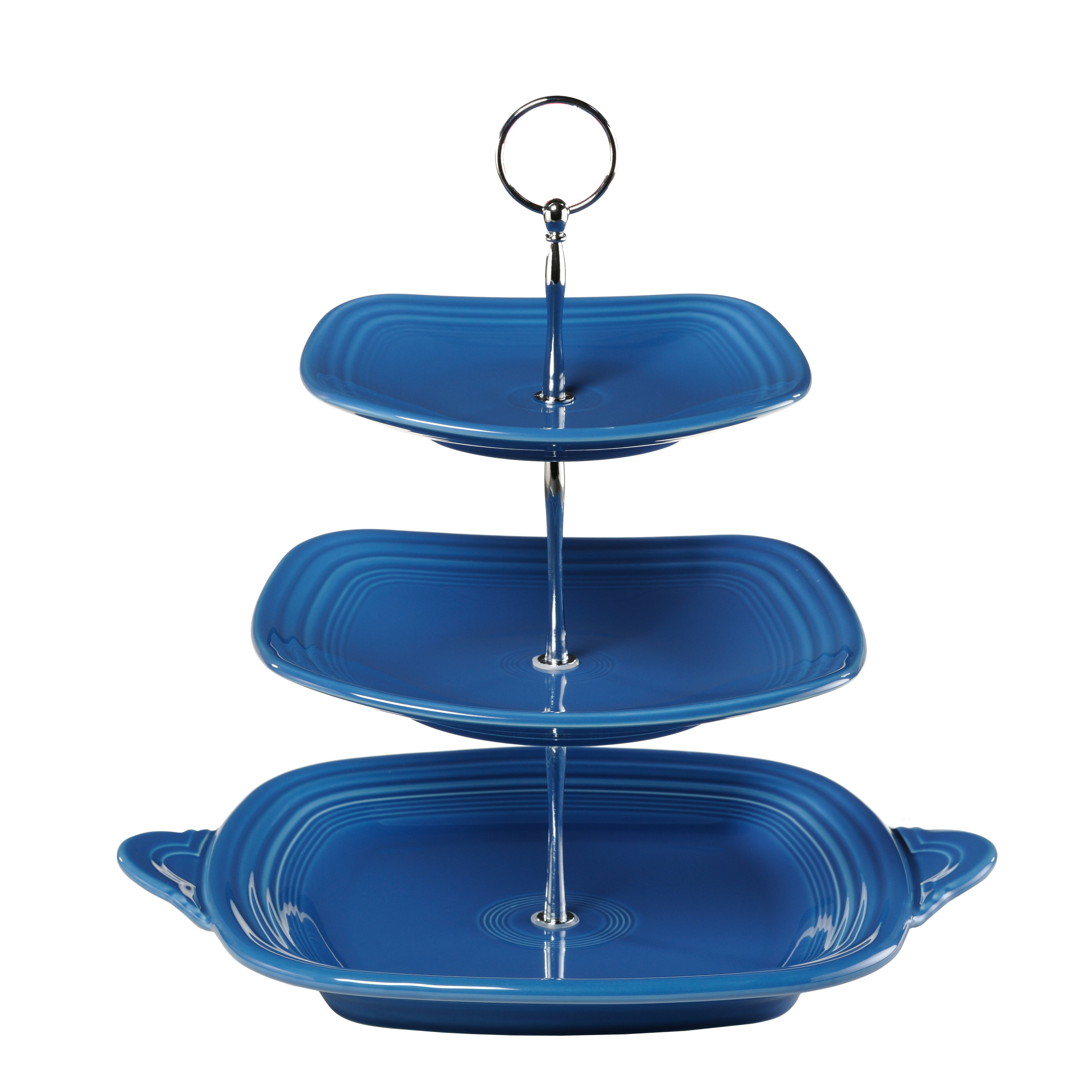 Tiered serving stand 3 tier rectangular serving platter for Stand 2 b