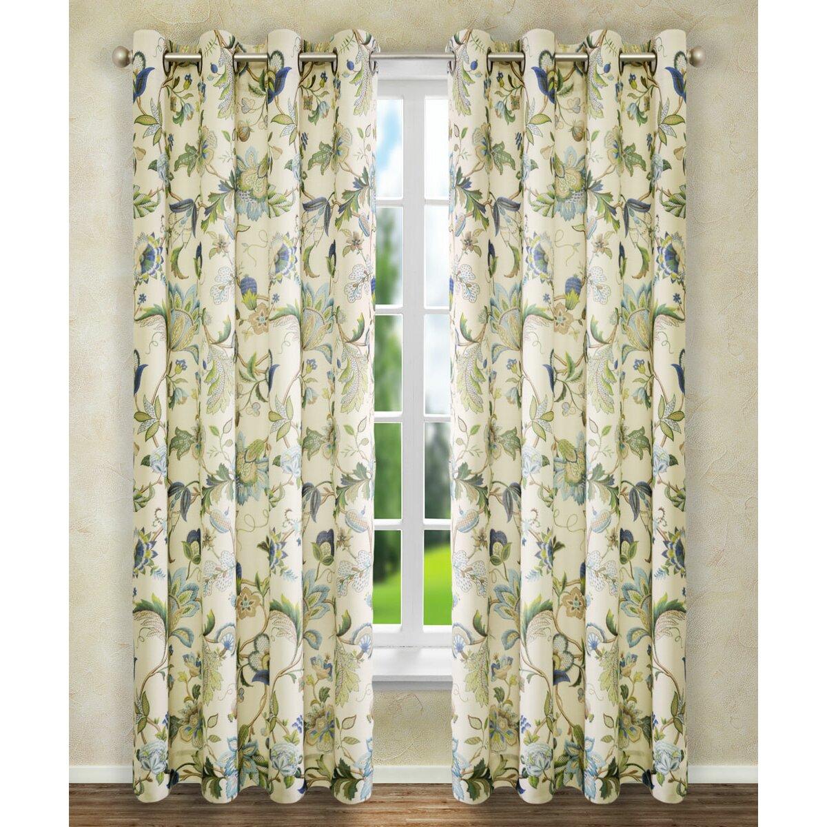 ellis curtain brissac curtain single panel reviews wayfair