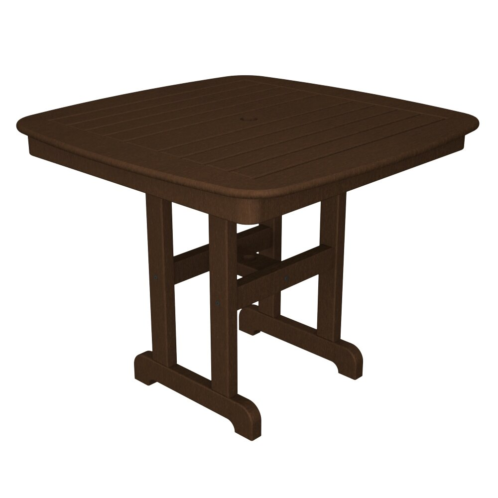 polywood nautical square dining table reviews wayfair