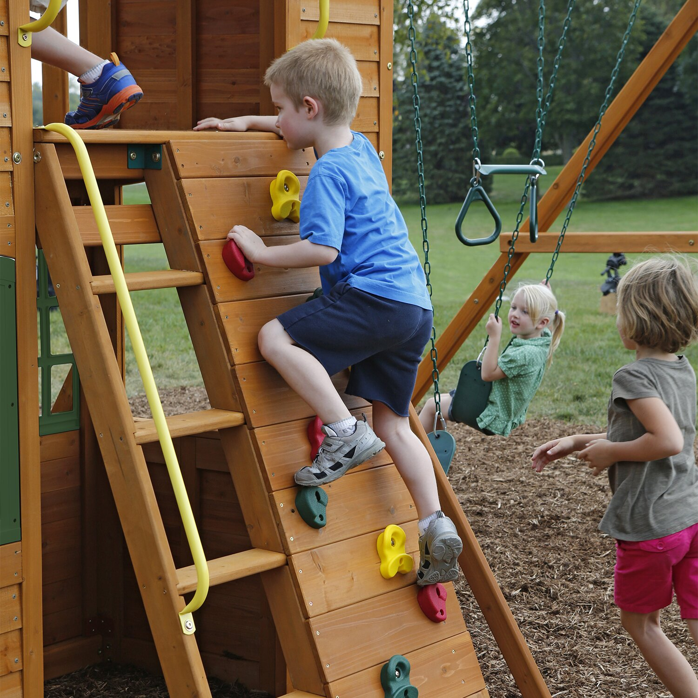 Big Backyard Grand Valley Retreat Swing Set & Reviews
