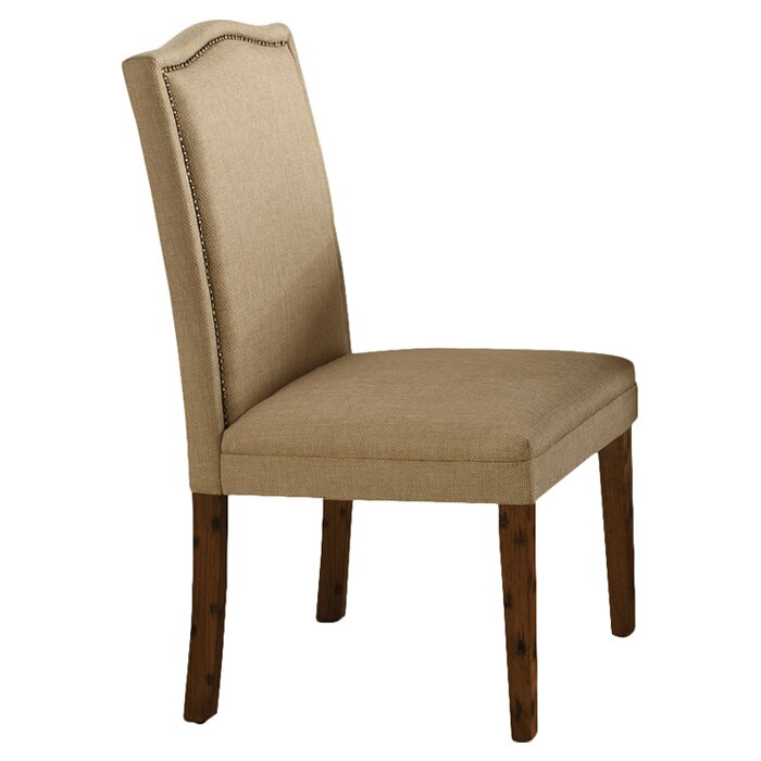 Alcott hill archie upholstered parsons chair reviews for Upholstered parson dining chairs