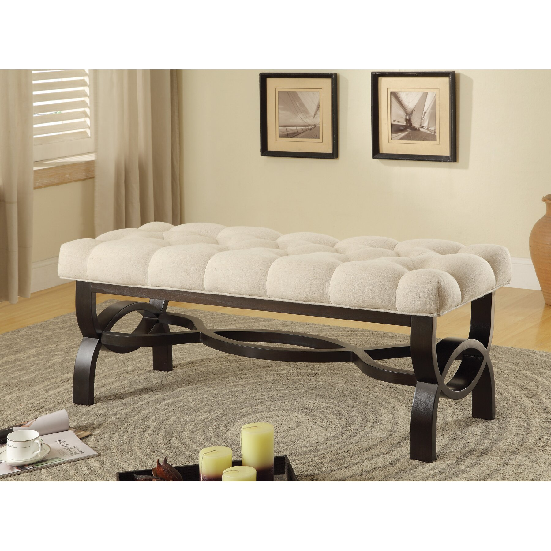 wildon home bedroom bench reviews wayfair