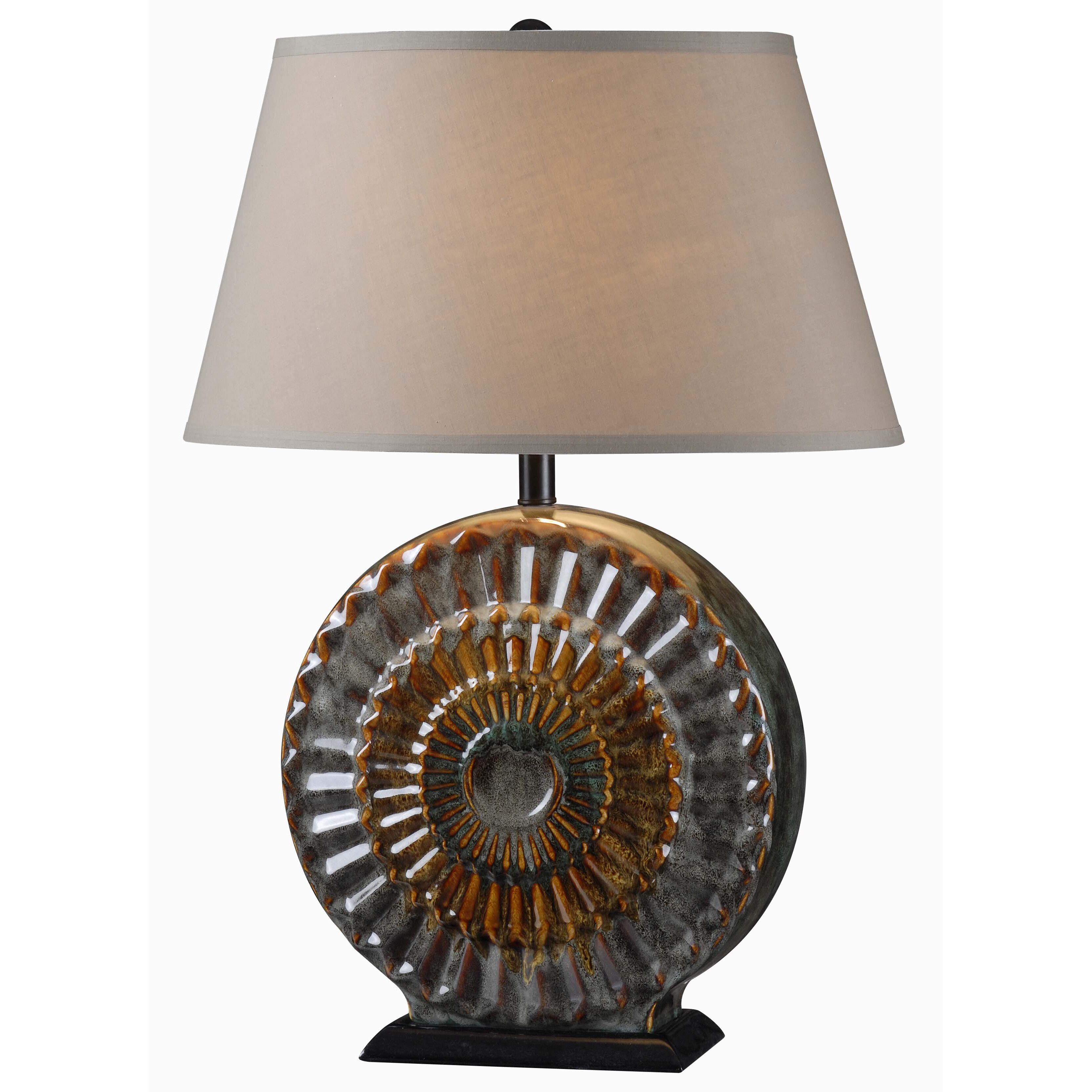 "Wildon Home ® El Paso 28"" H Table Lamp With Empire Shade"
