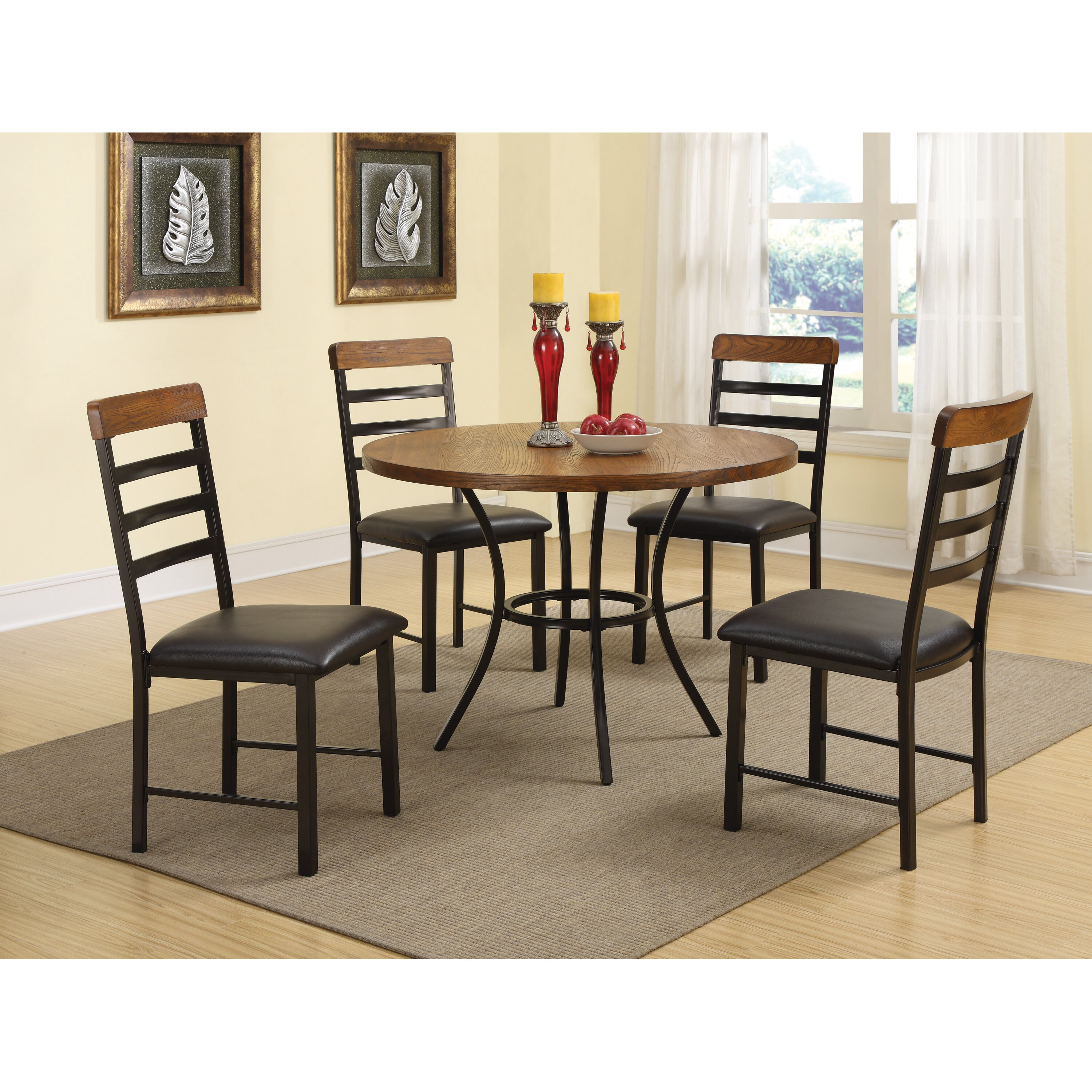 Wildon Home 5 Piece Dining Table Set Reviews Wayfair