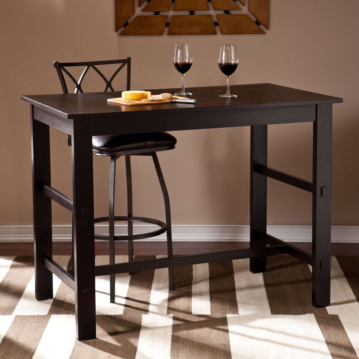 Counter Height Dining Tables: Wildon Home ® Hagan Counter Height Dining Table & Reviews