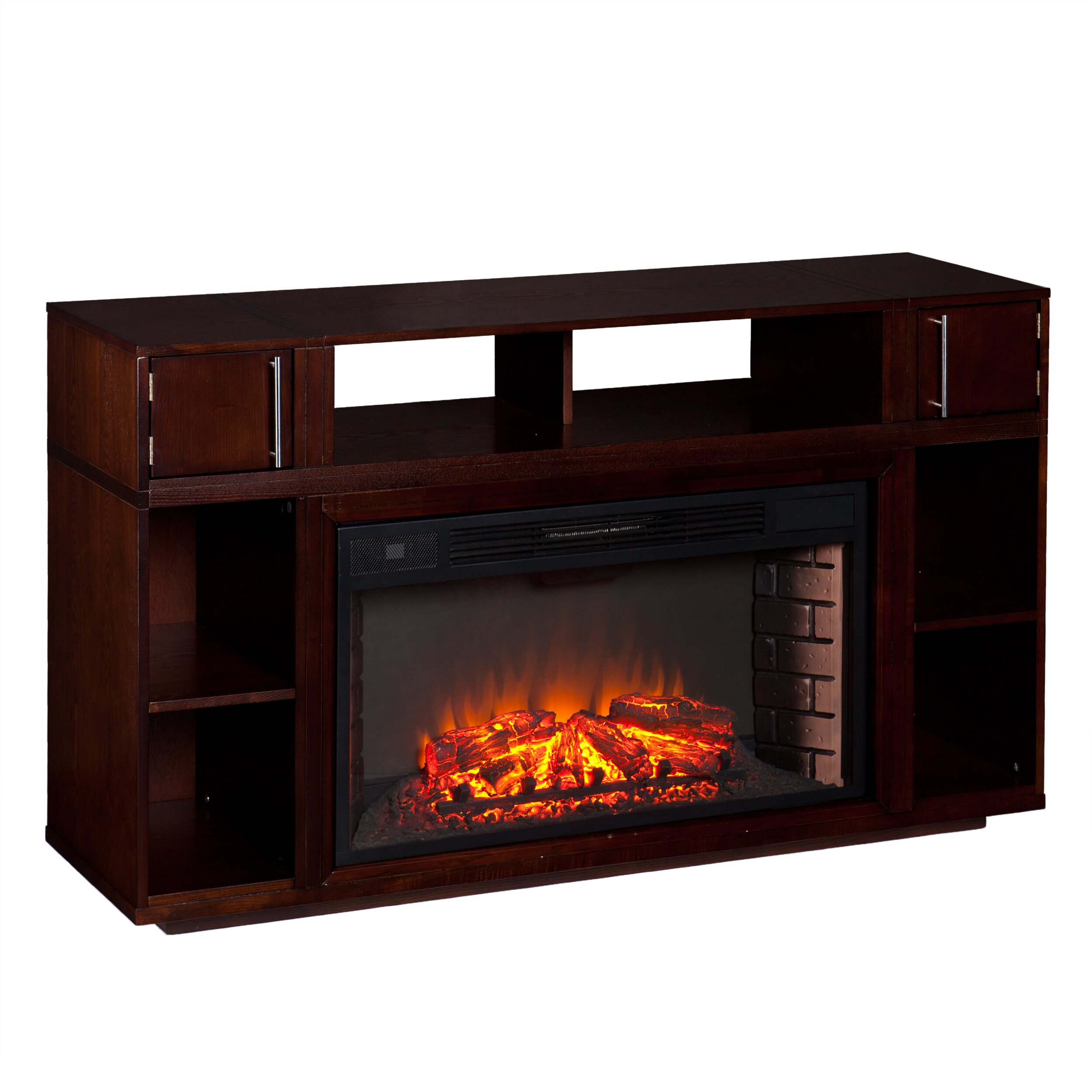 Windermere Tv Stand With Electric Fireplace Wayfair