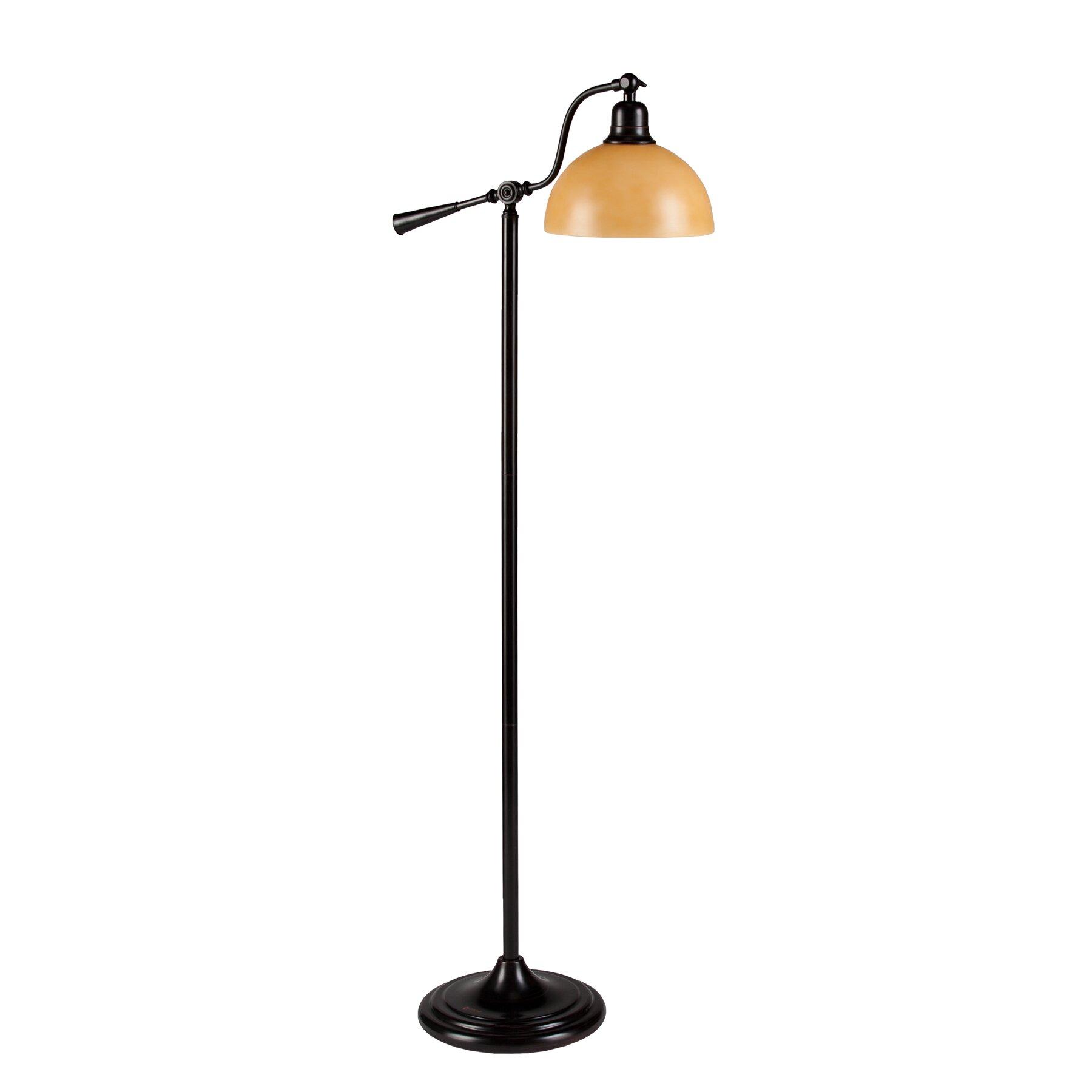 wildon home ottlite keeton task floor lamp reviews. Black Bedroom Furniture Sets. Home Design Ideas