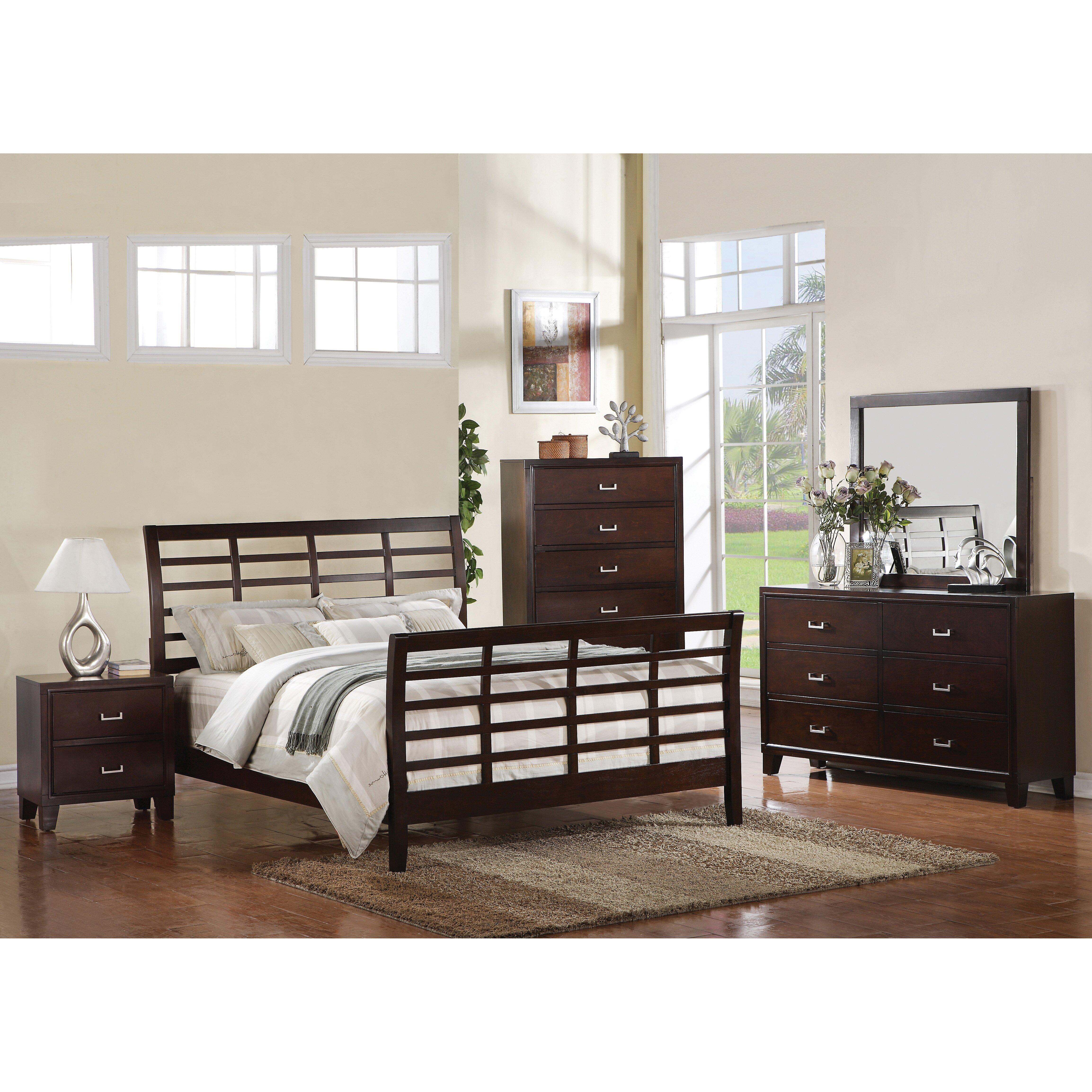 Preston sleigh bed wayfair Bedroom furniture preston