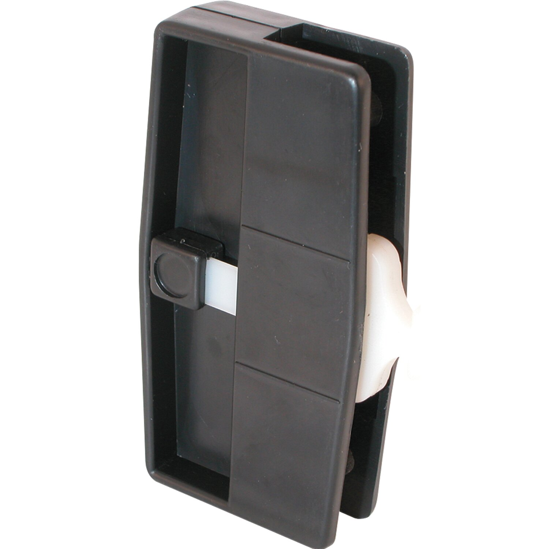 1500 #7A6451 Screen Door Latch And Pull By PrimeLine image Menards Security Doors 41731500