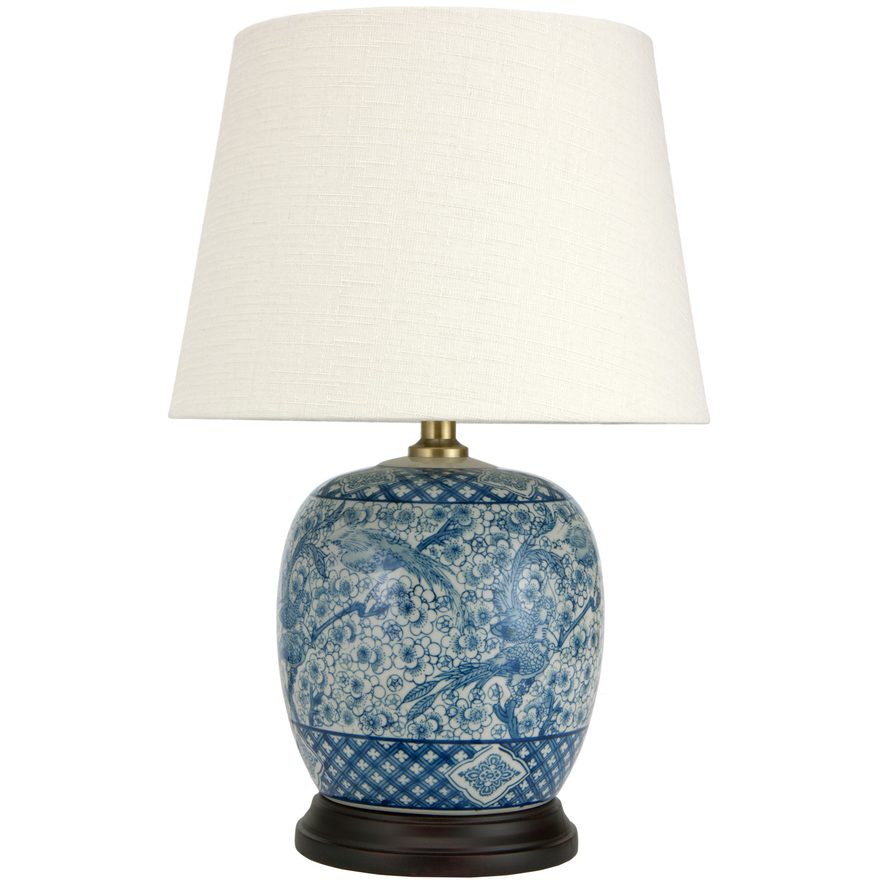 "Oriental Furniture Classic 20"" H Table Lamp with Empire ..."