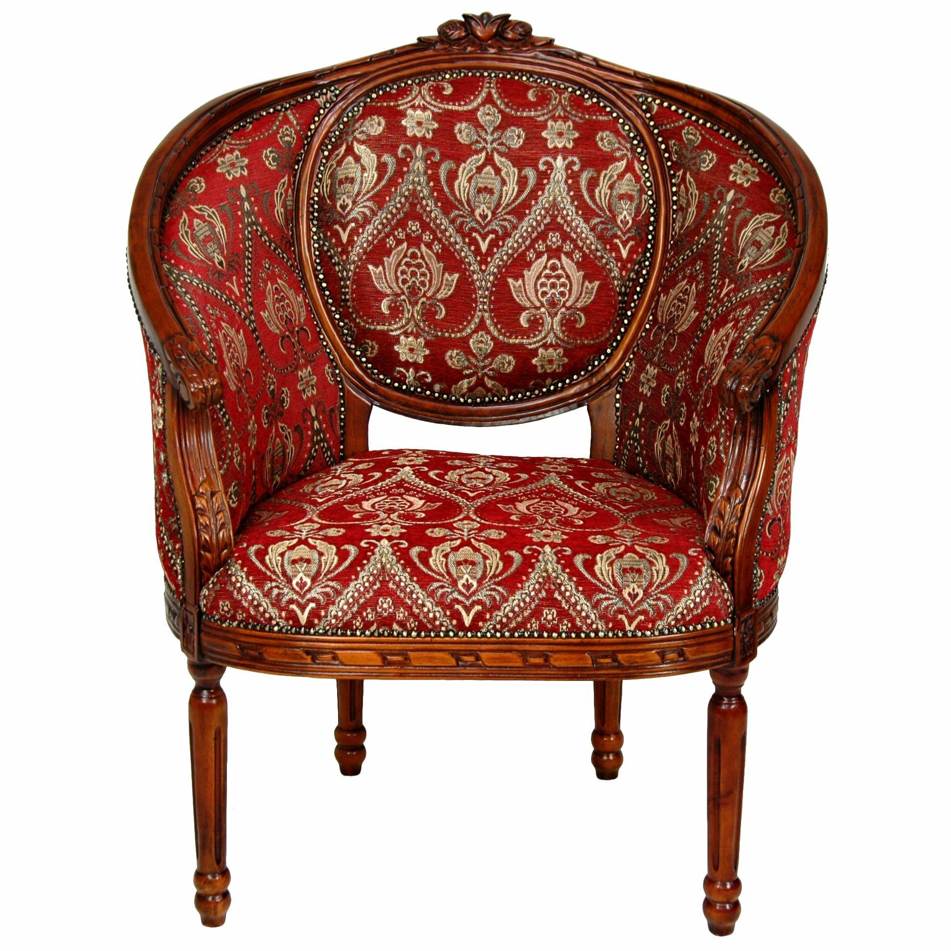 Queen Anne Wing Chair   Wayfair