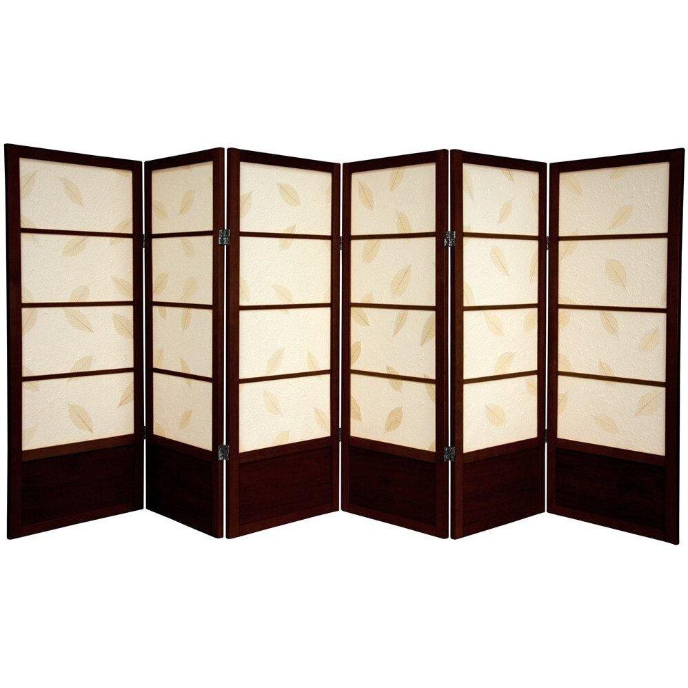 Oriental furniture 48 shoji botanic room divider reviews wayfair - Shoji room divider ...