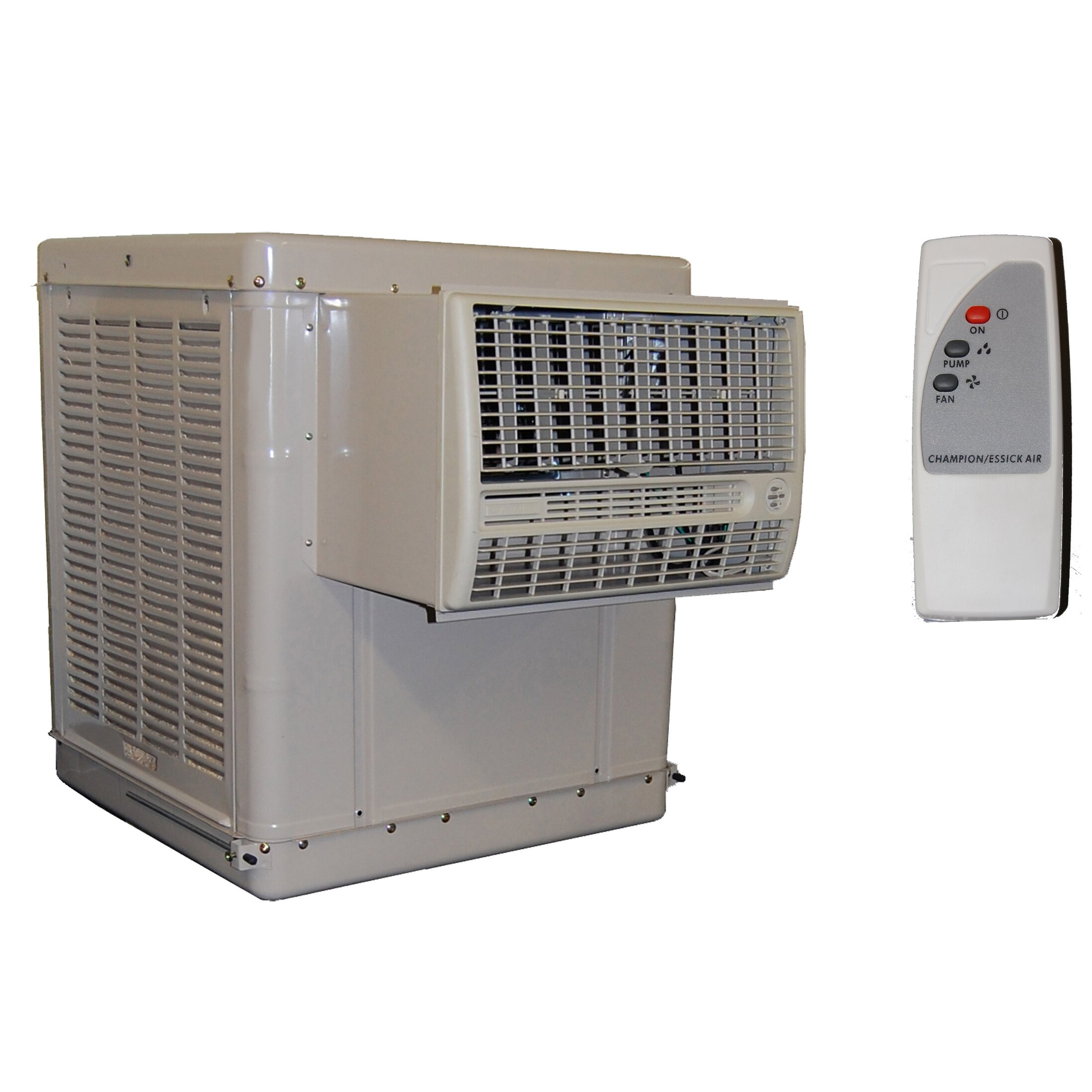 Window Evaporative Cooler with Remote by EssickAir #6F695C