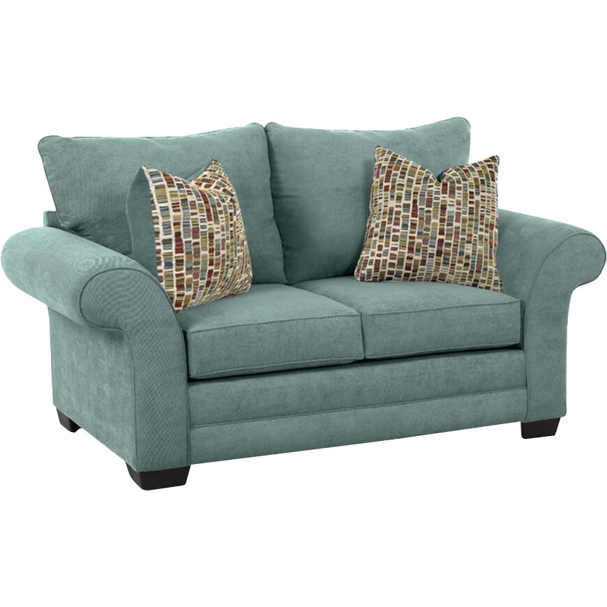 Klaussner Furniture Bart Loveseat & Reviews | Wayfair