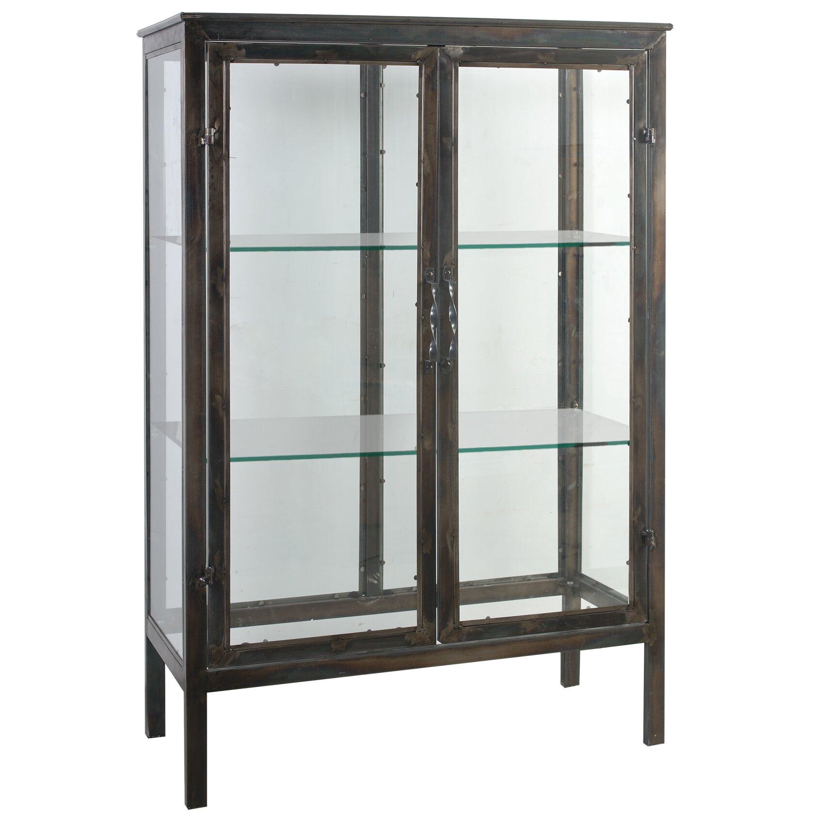 Parnell keepsake display cabinet wayfair for Storage parnell