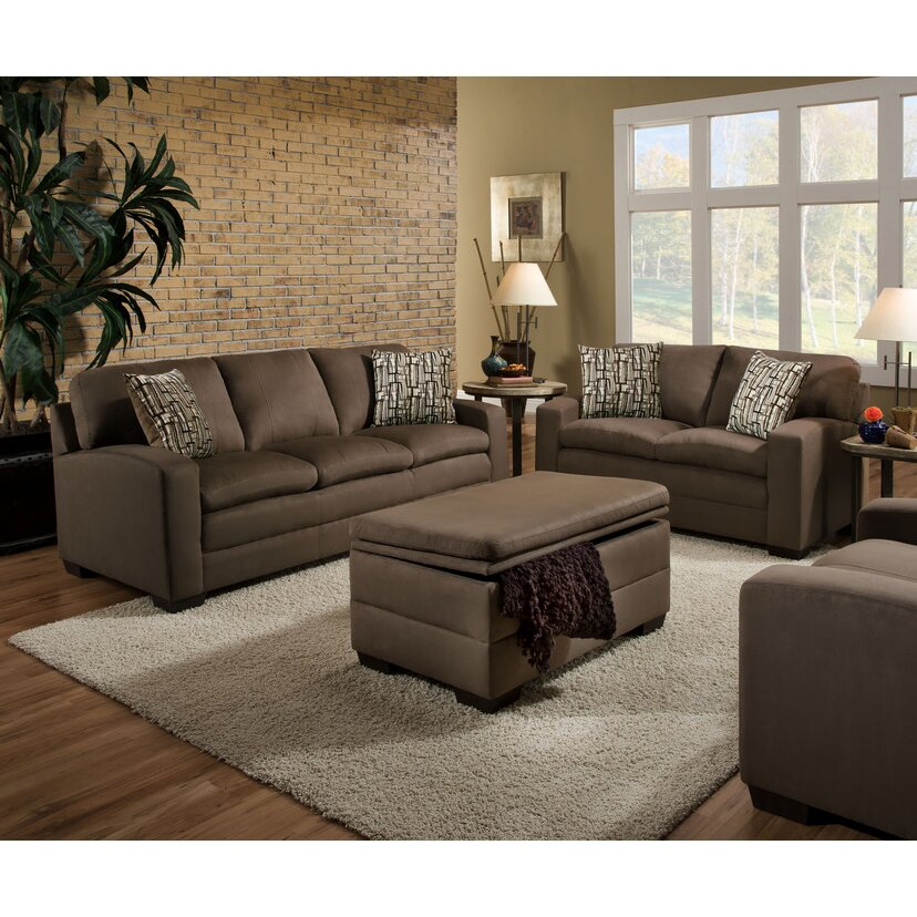 Simmons Upholstery Velocity Living Room Collection Reviews Wayfair
