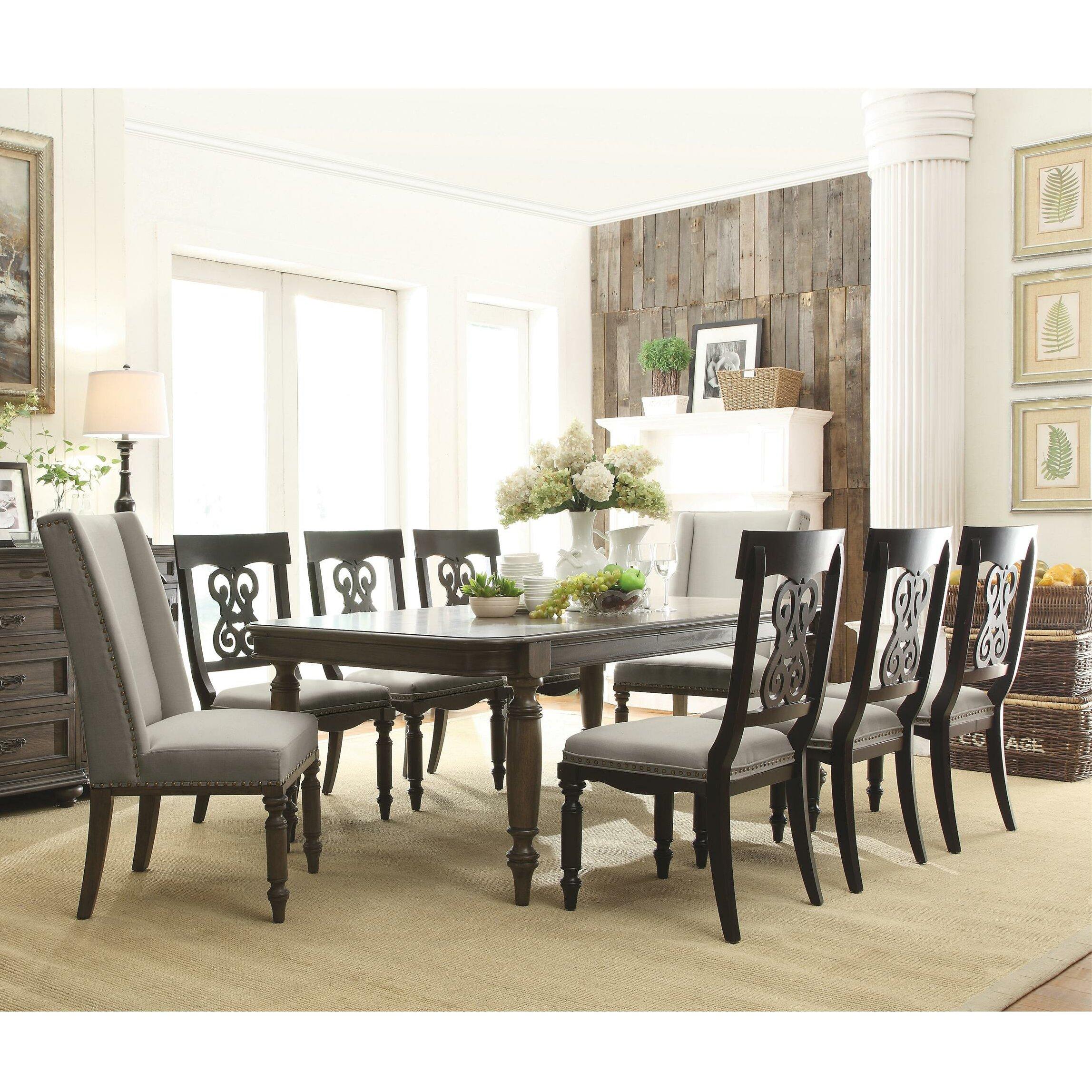 Napa Gathering Collection Riverside Furniture Belmeade Piece Dining Set Rvf