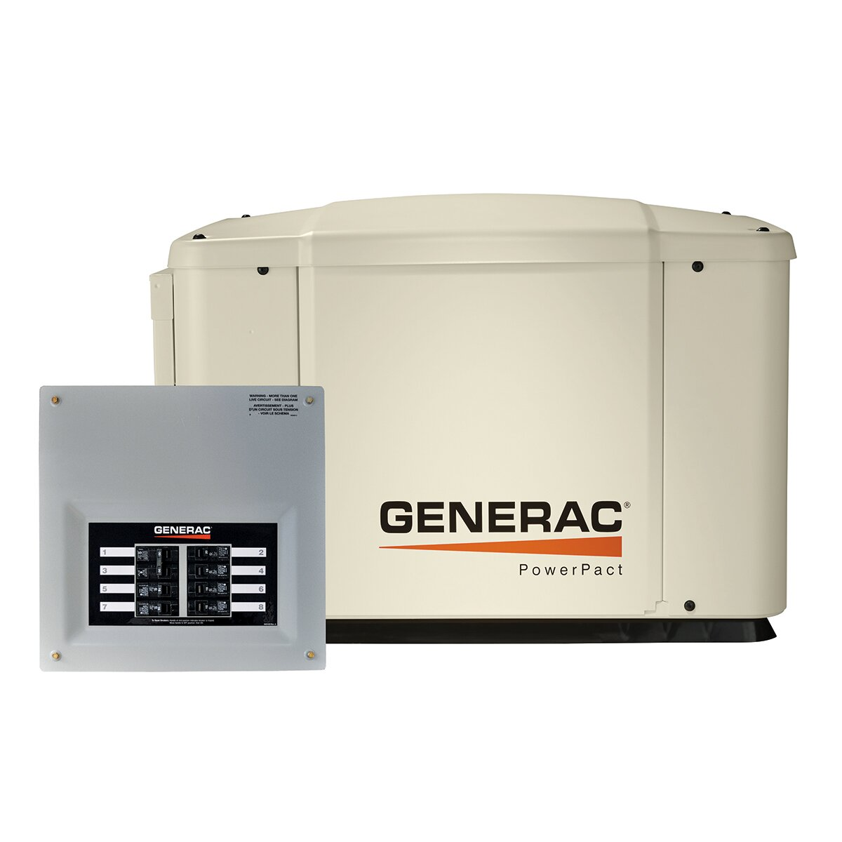 PowerPact 7 Kw Air Cooled Automatic Home Standby Generator 50