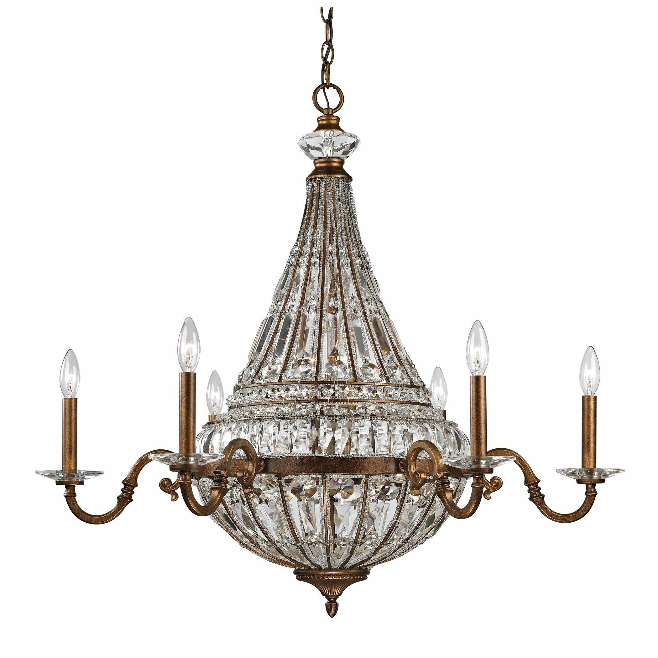 Empire 14 Light Candle Chandelier