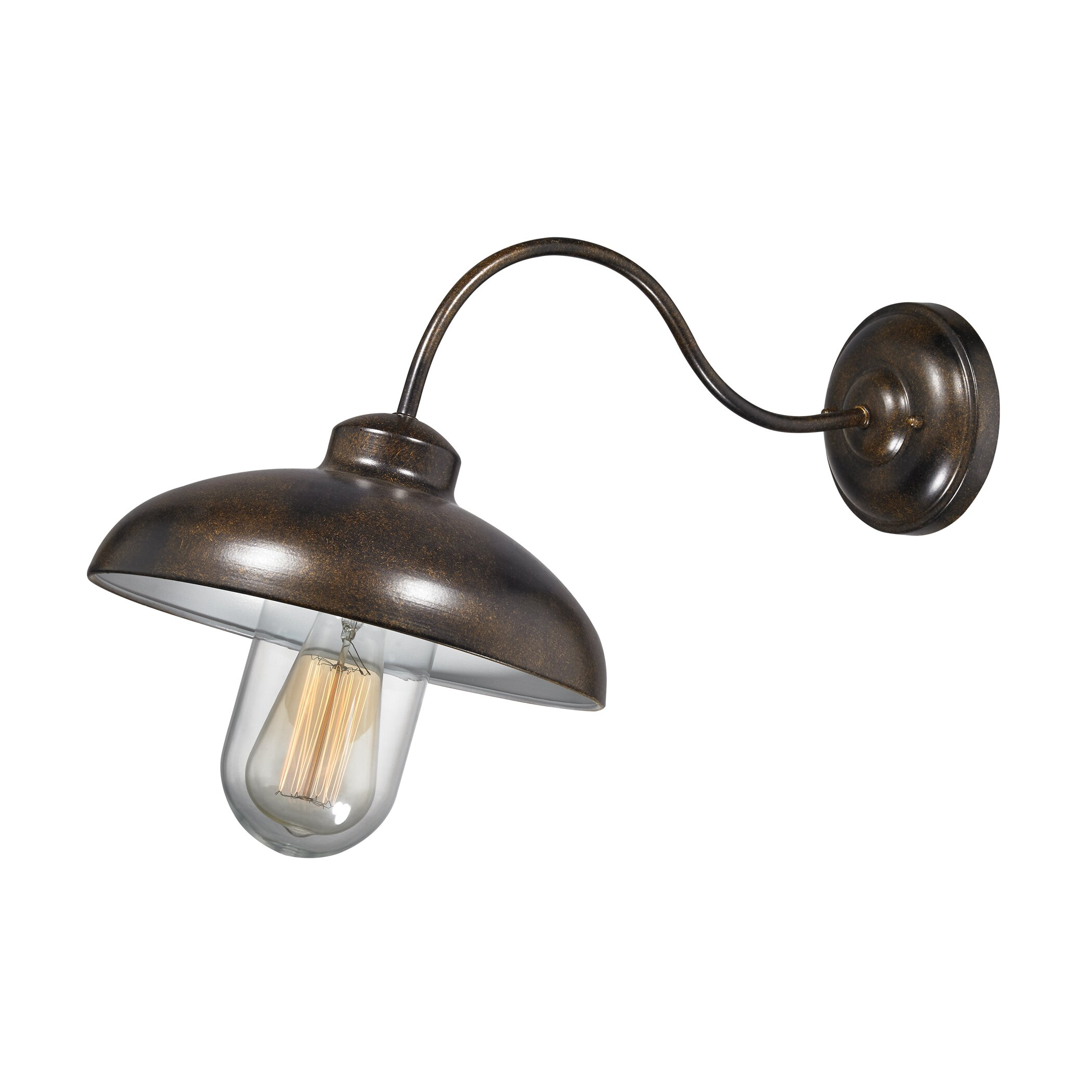 Elk Lighting Barnside 1 Light Outdoor Barn Light & Reviews