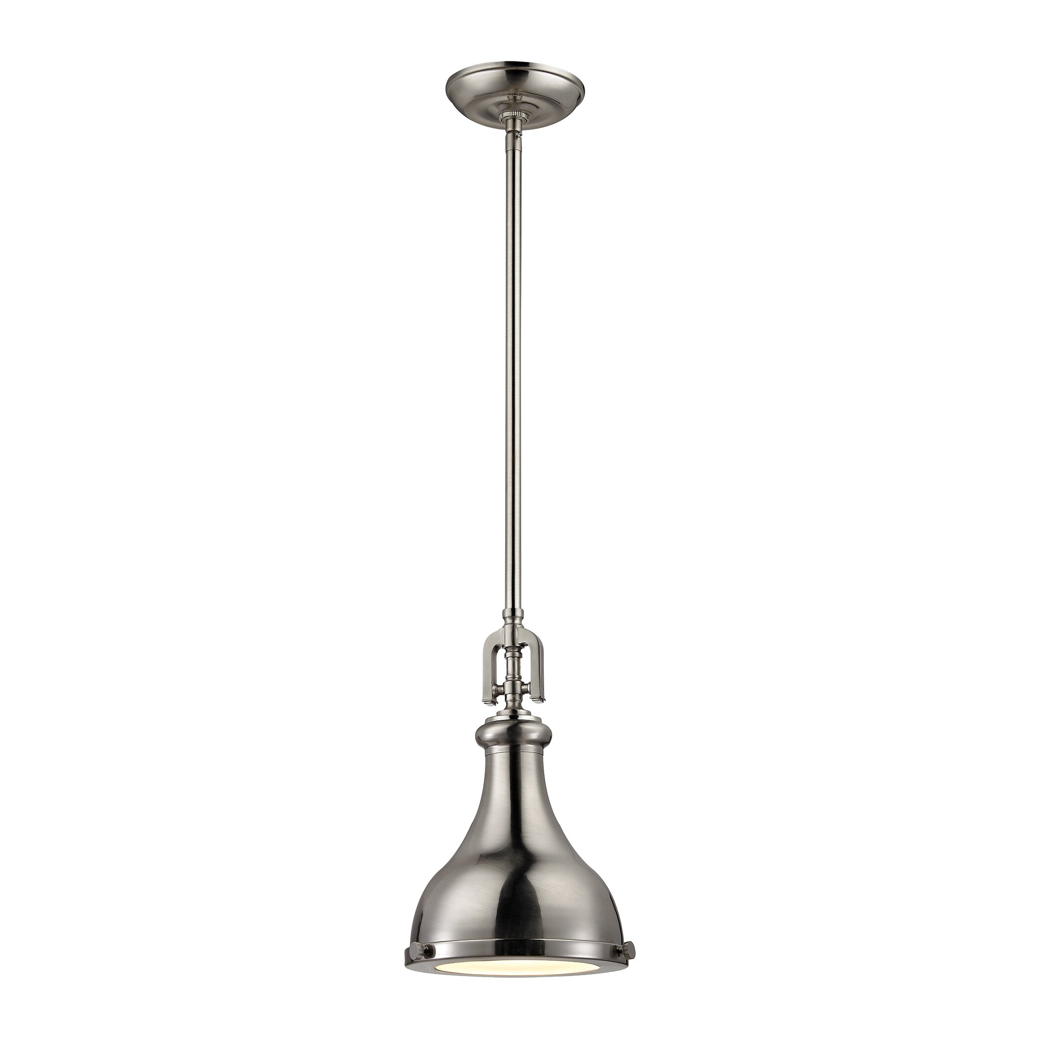 Elk Lighting Rutherford 1 Light Mini Pendant & Reviews