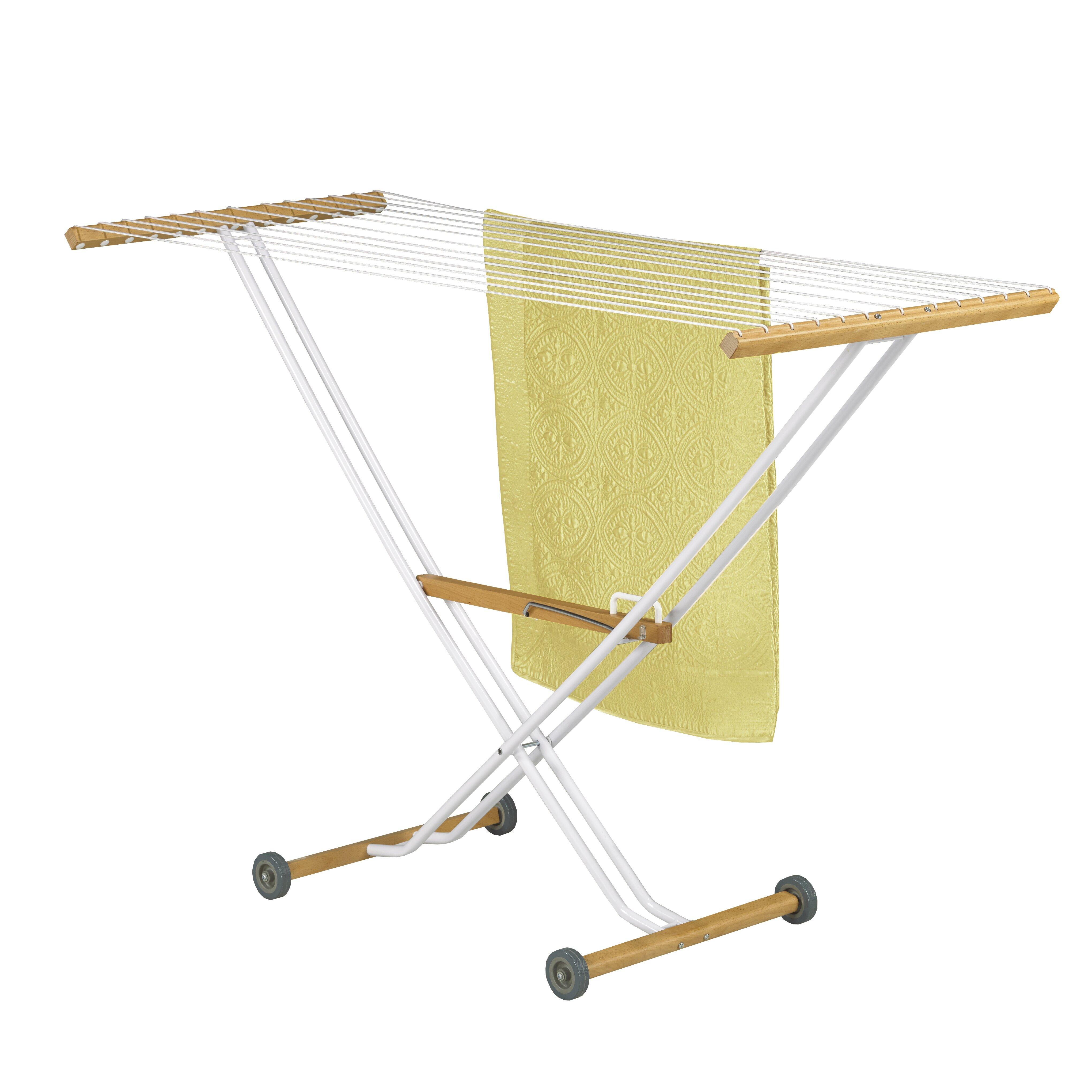 westex linda drying rack reviews wayfair. Black Bedroom Furniture Sets. Home Design Ideas