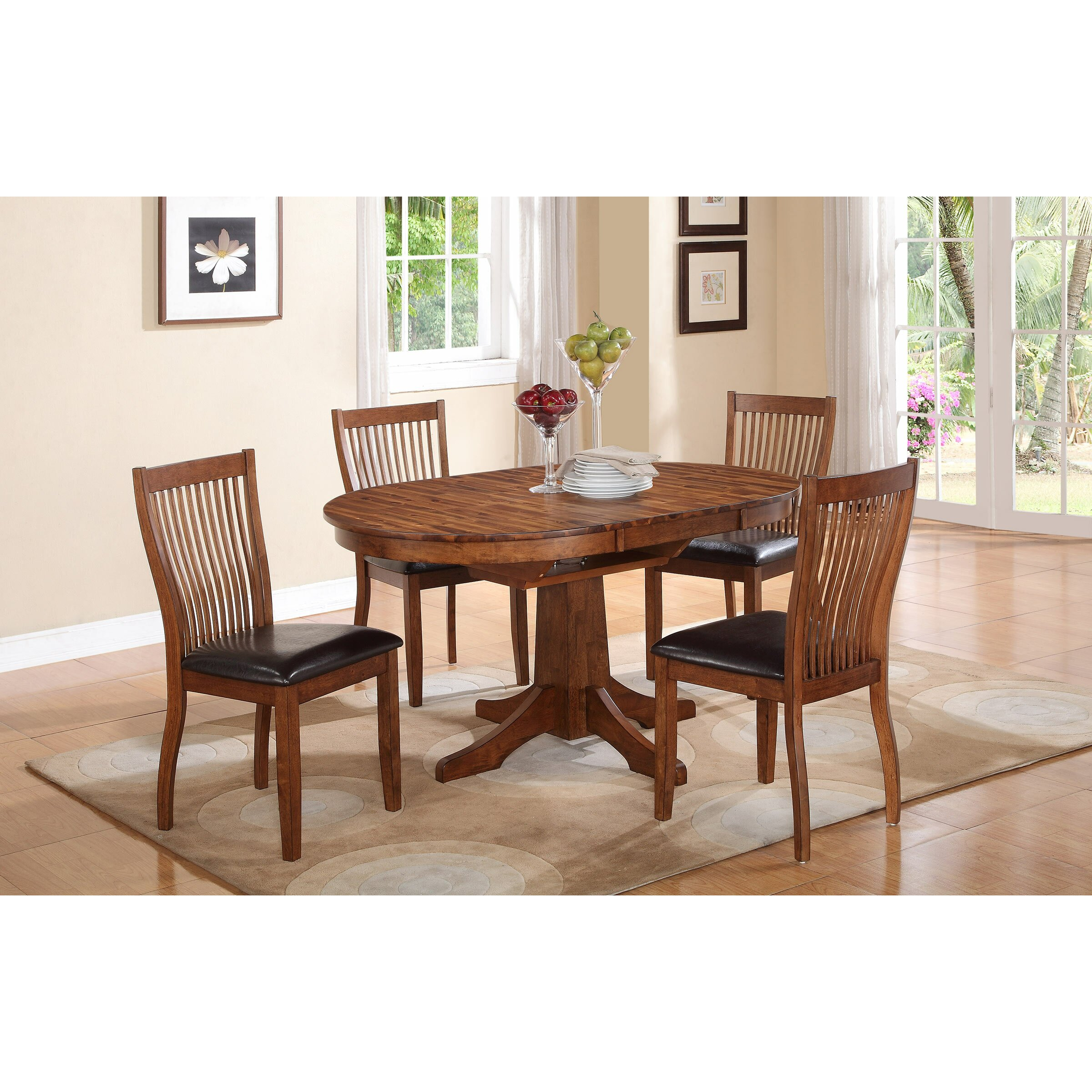 Napa Gathering Collection Winners Only Inc Broadway Piece Dining Set Dfb