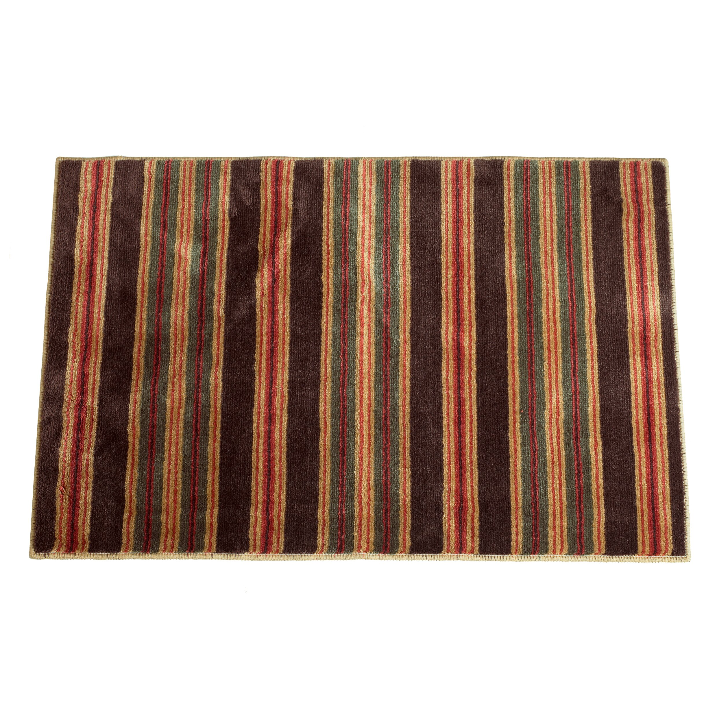 Rustic Rug Country: High Country Rustic Red/Tan Area Rug
