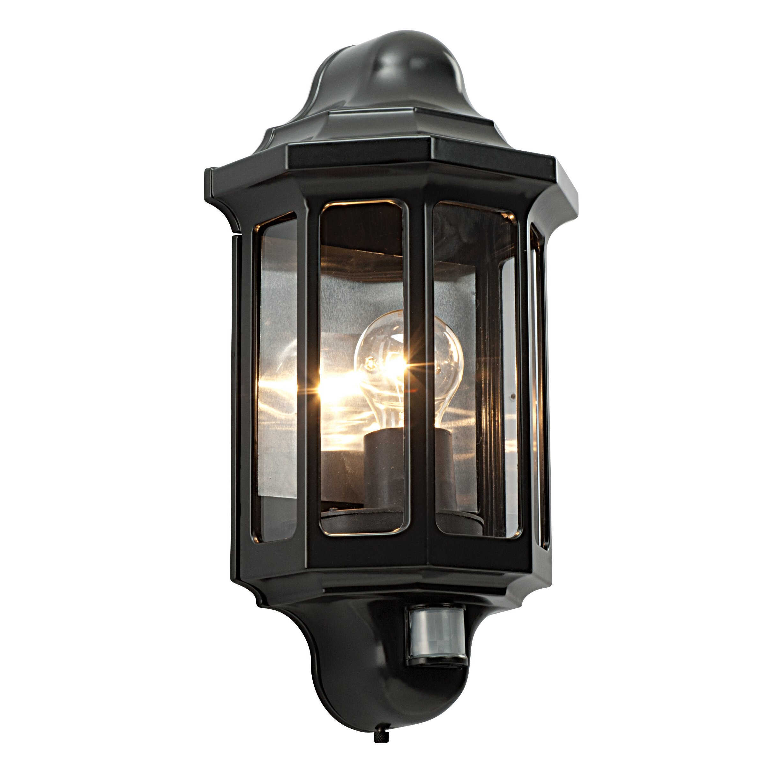 Saxby Lighting Traditional 1 Light Outdoor Security Wall Light Reviews Wayfair Uk