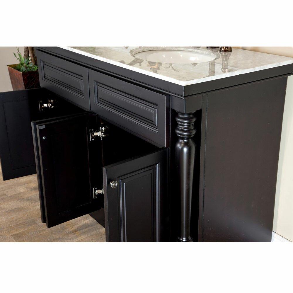 Bellaterra Home 55 Double Bathroom Vanity Set Reviews
