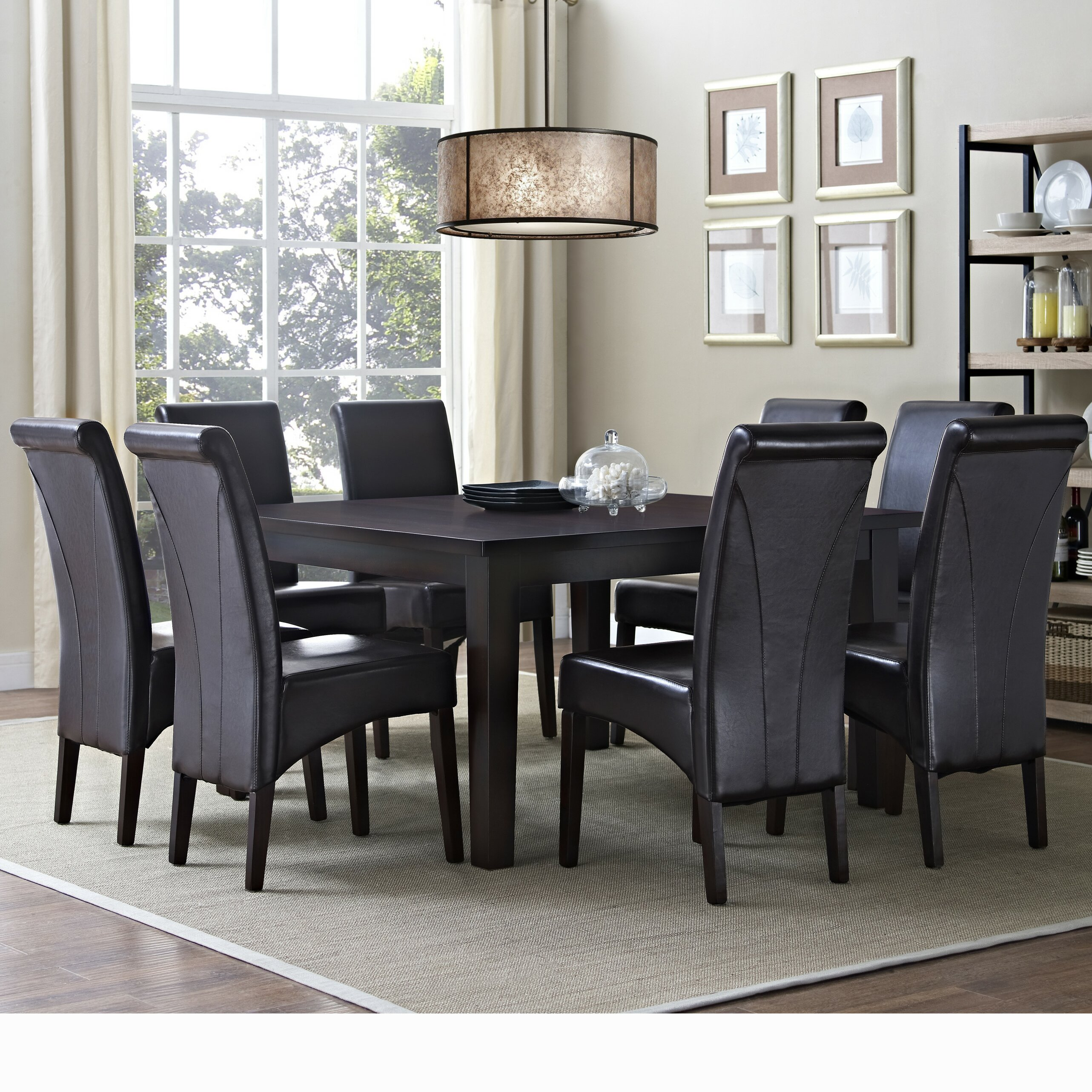 avalon 9 piece dining set by simpli home