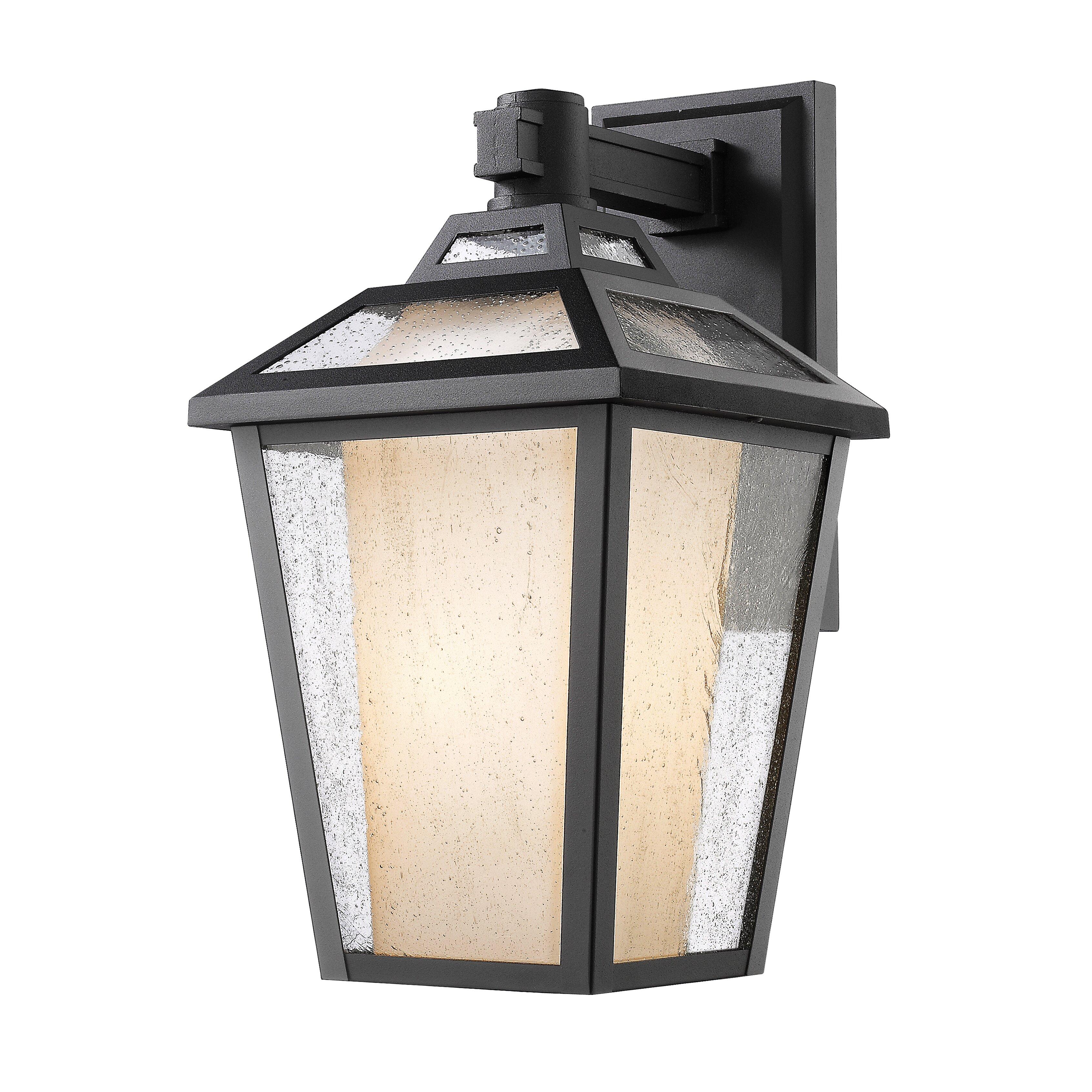 Memphis 1 Light Outdoor Wall Lantern