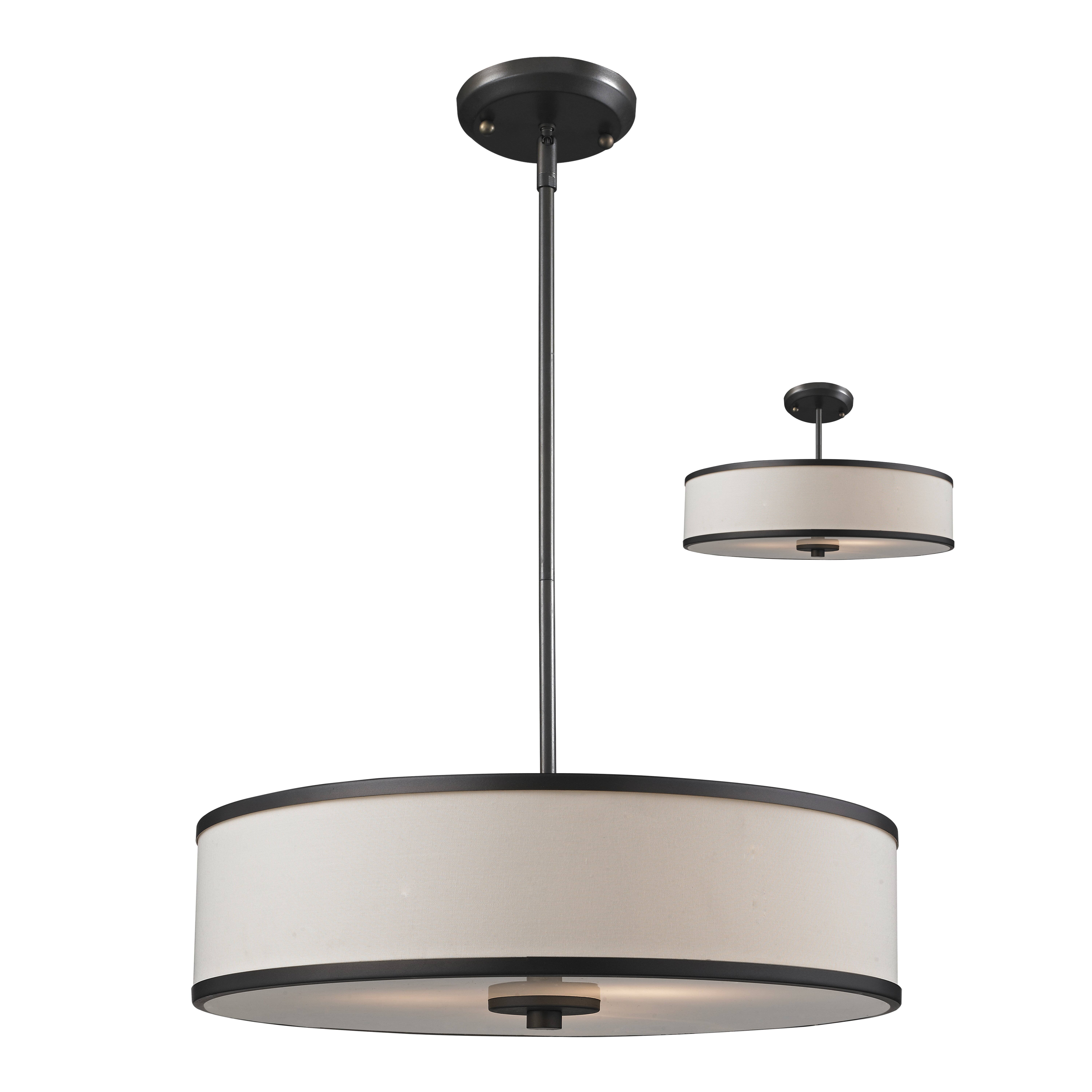 Foyer Drum Lighting : Z lite cameo convertible light drum foyer pendant