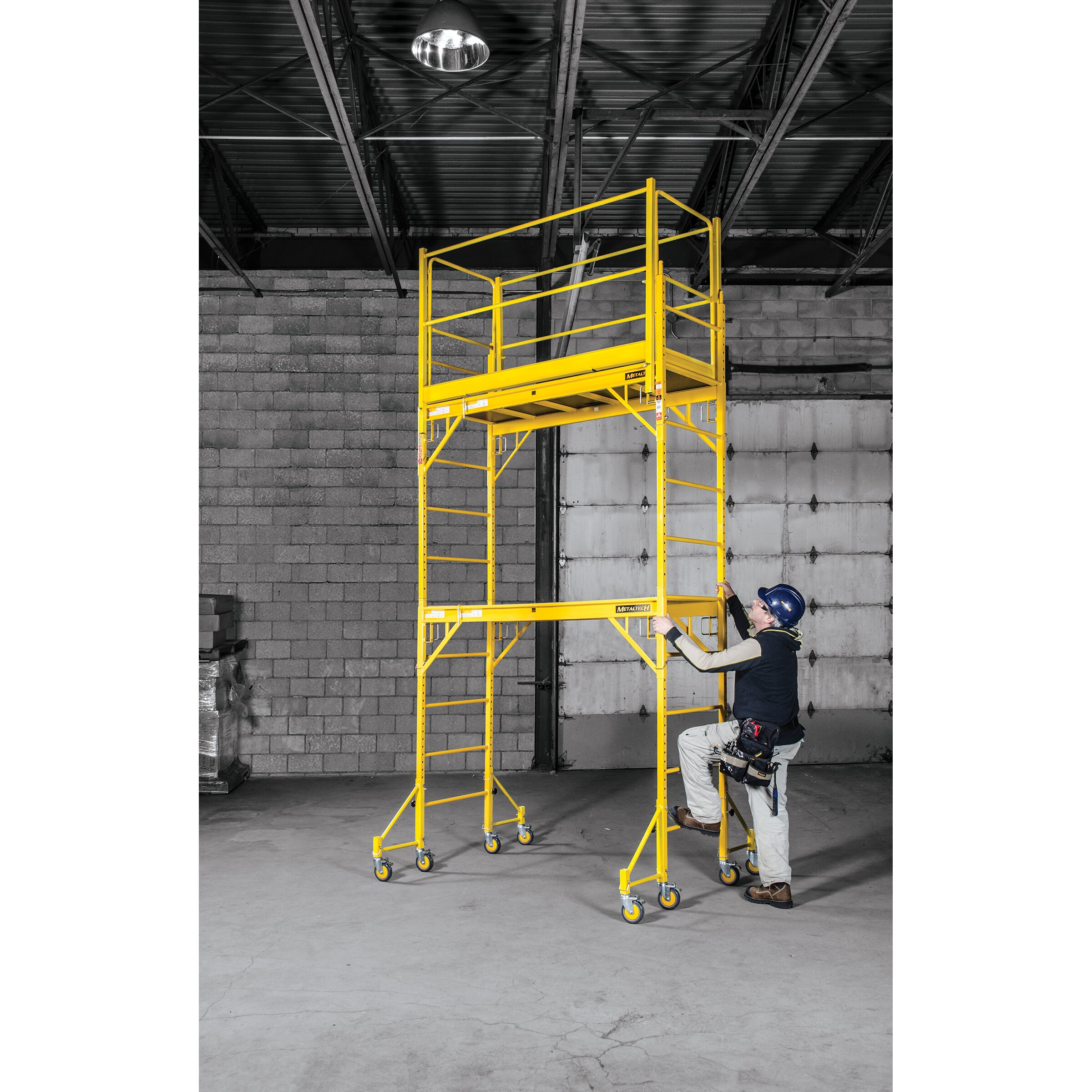 Perry Folding Scaffolding : Jobsite series  h w d steel perry