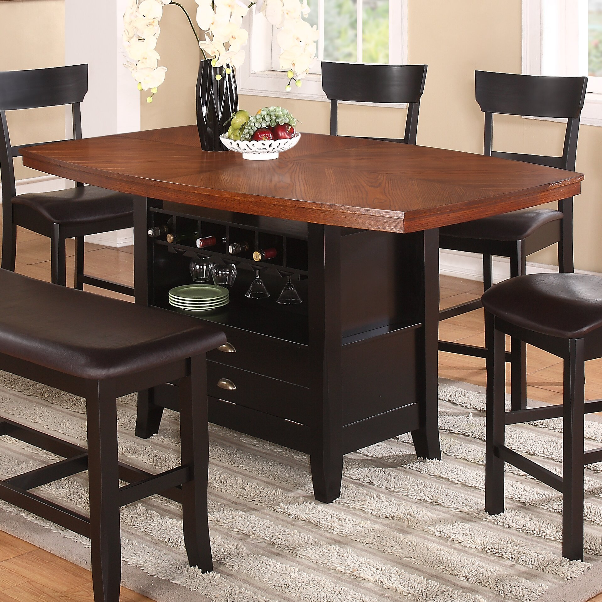 import co owingsville counter height dining table reviews wayfair