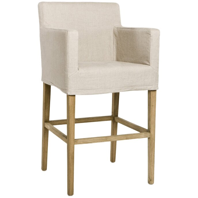 Square Bar Stool Slipcovers