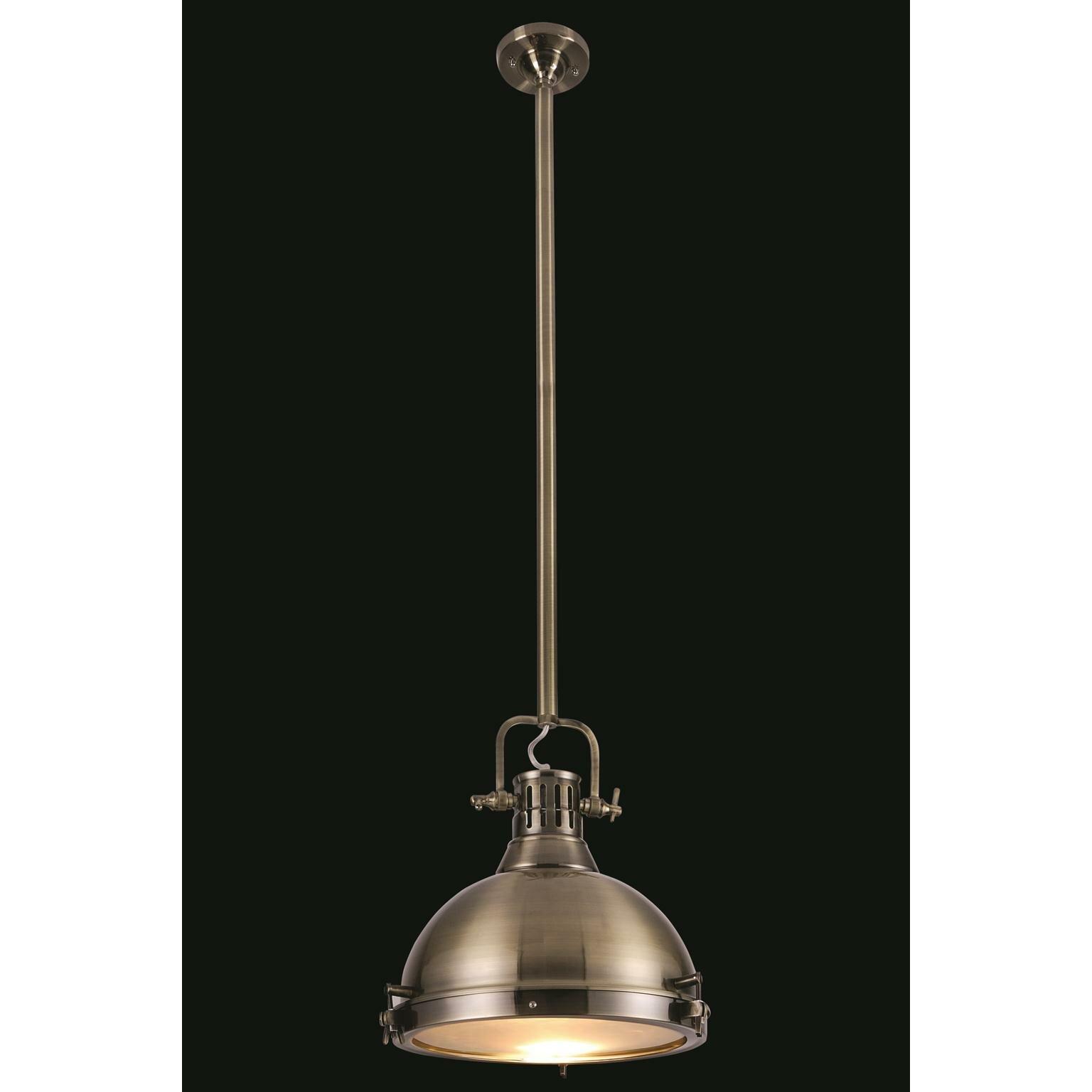 Industrial Mini Pendant Light: Industrial 1 Light Mini Pendant