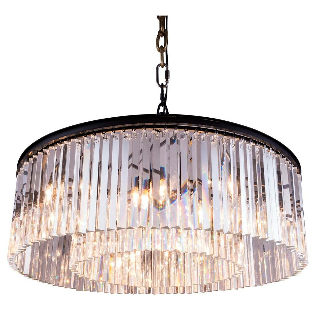 Sydney 10 Light Drum Pendant