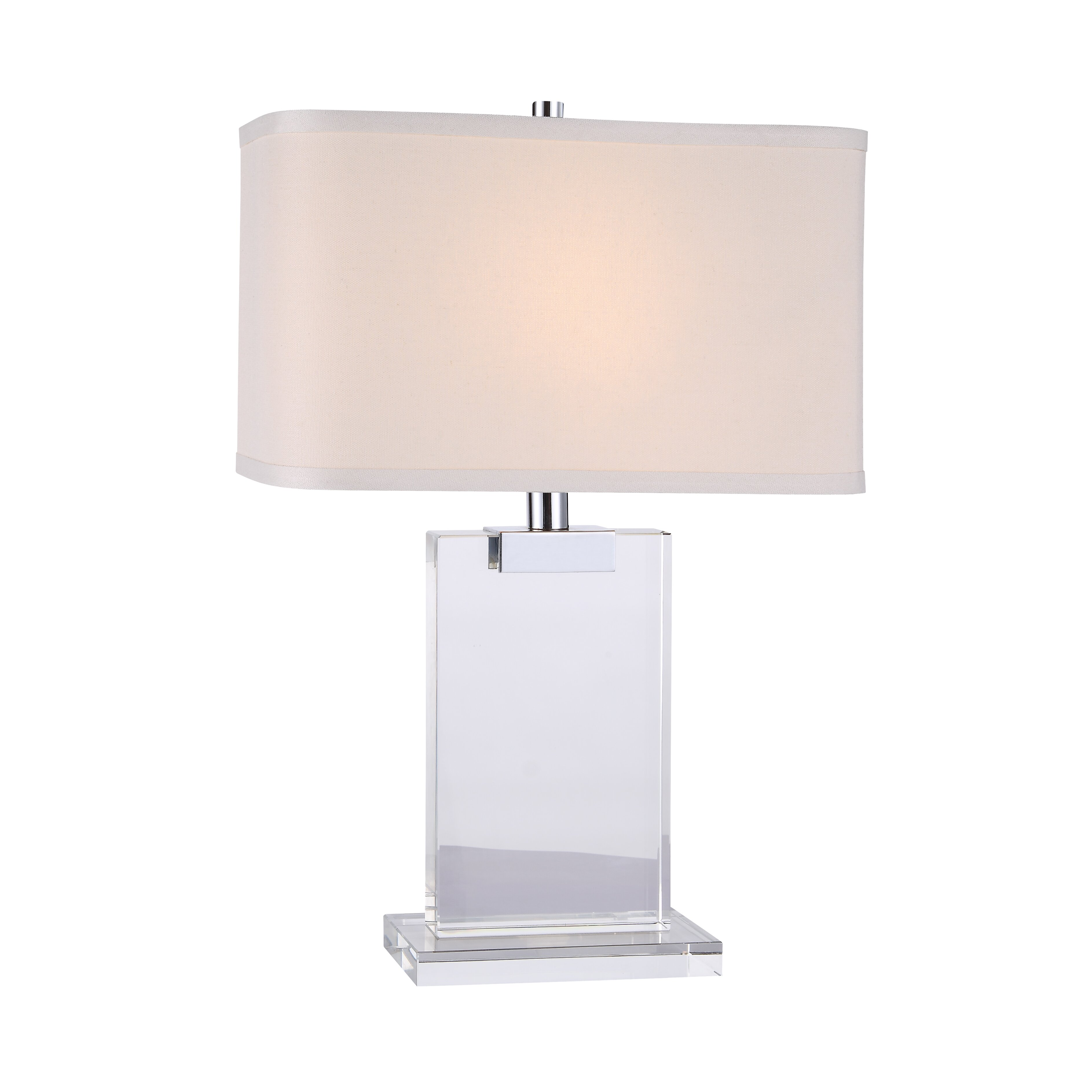 elegant lighting regina table lamp with rectangular shade reviews. Black Bedroom Furniture Sets. Home Design Ideas