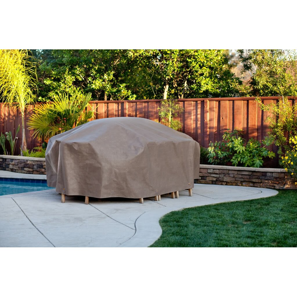 Duck Covers Elite Rectangular Patio Set Cover & Reviews