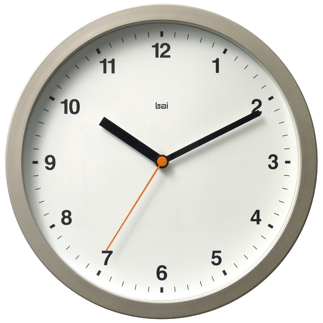 "Bai Design 10"" Designer Wall Clock & Reviews"