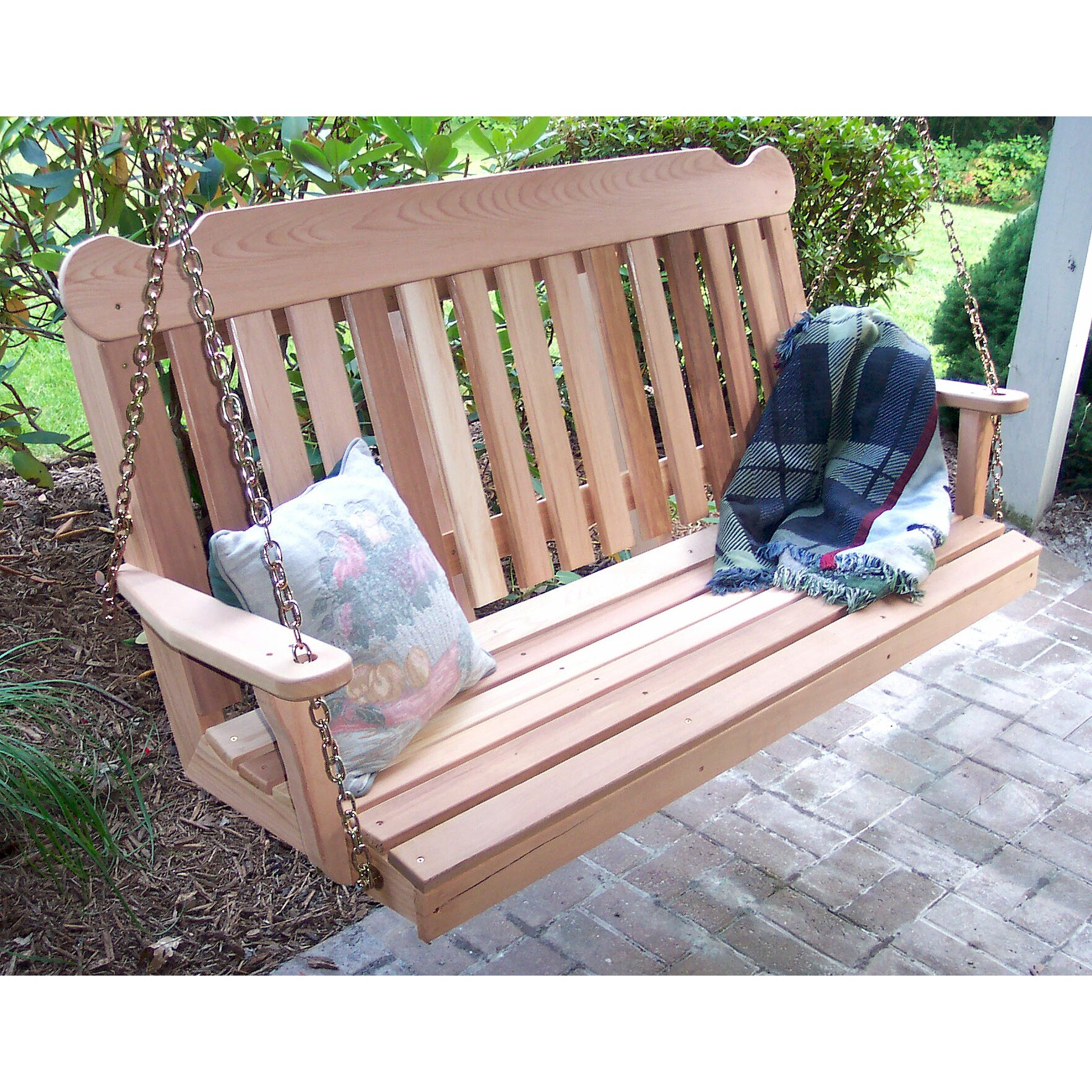Creekvine Designs Cedar Porch Swing & Reviews
