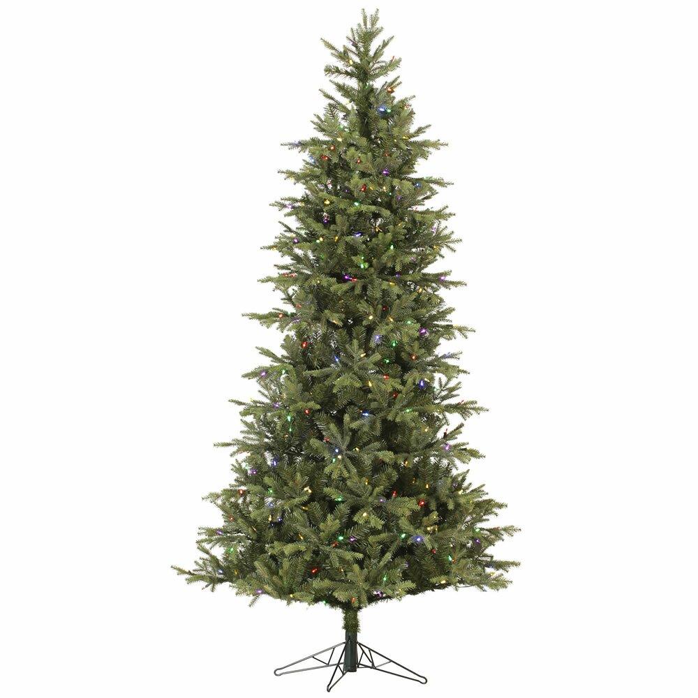 Next Slim Christmas Tree: Slim Elk Frasier 7.5' Green Fir Artificial Christmas Tree