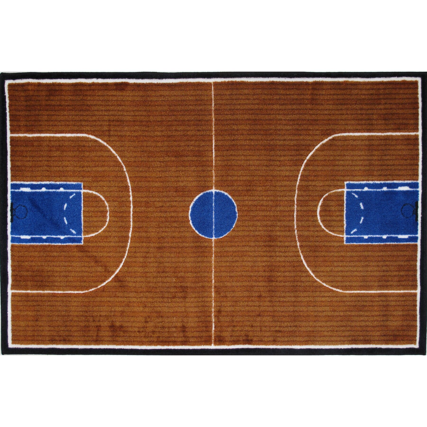 Fun Rugs Supreme Basketball Court Kids Rug & Reviews
